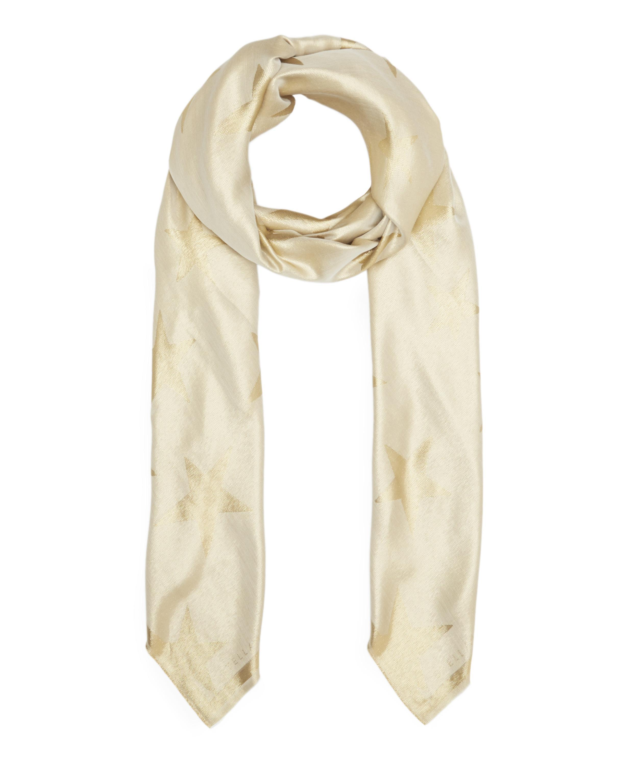 Stella McCartney metallic star scarf Pick A Best Cheap Online Buy Cheap Prices Pay With Paypal Online Affordable 6wEhkEuU