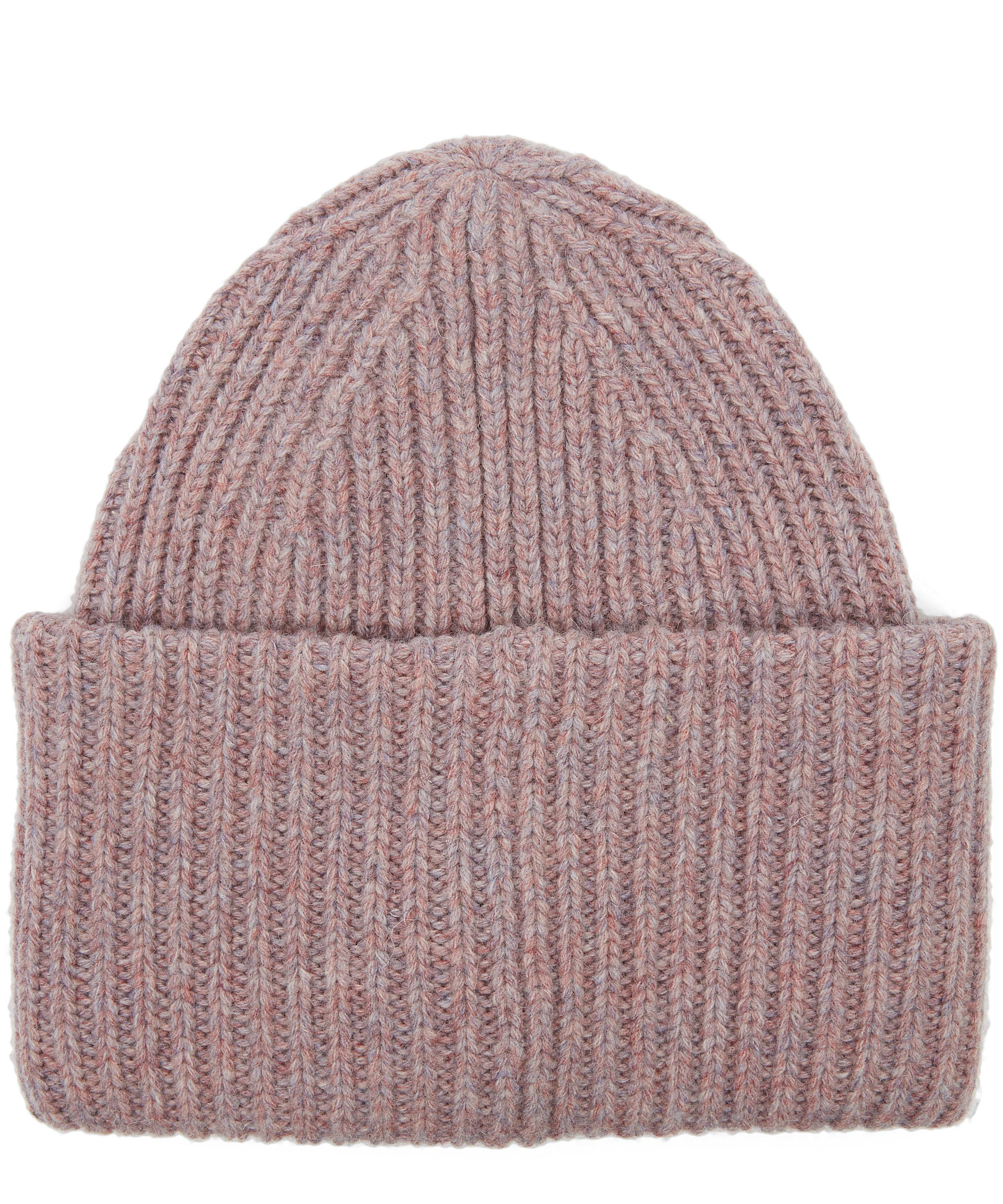 c2e9410b62d Acne Studios Pansy Wool Beanie in Pink - Lyst