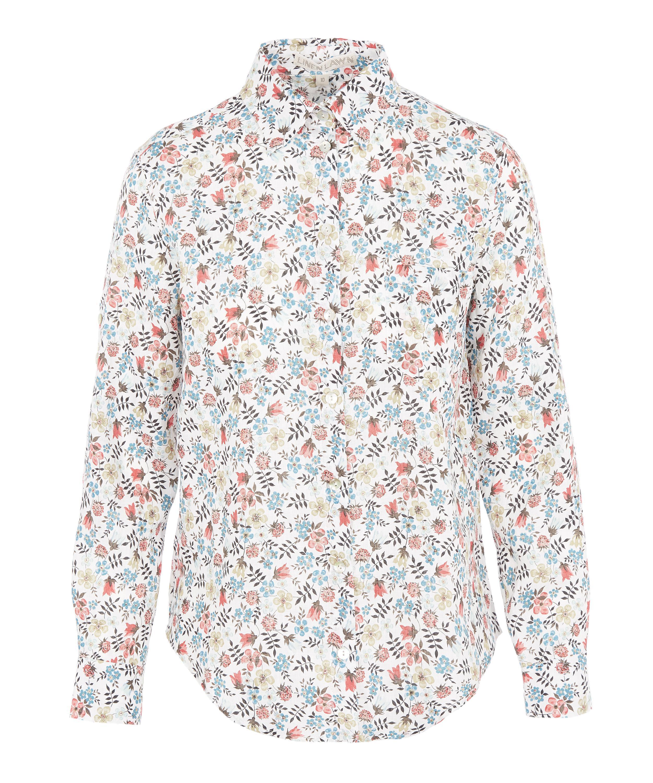 bb95370a06e4e4 Liberty Edenham Women's Linen Bryony Shirt - Lyst