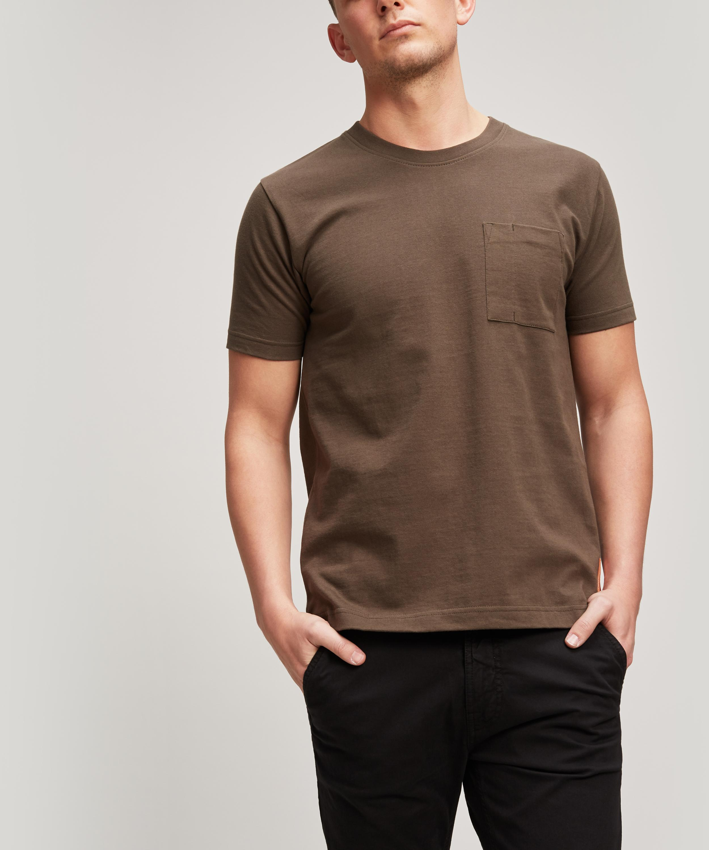 9444efb73 Nudie Jeans Kurt Worker T-shirt in Gray for Men - Lyst