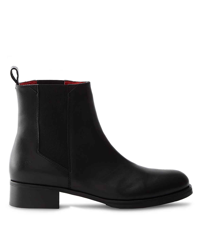 liebeskind berlin chelsea boot in black for men bittersweet brown lyst. Black Bedroom Furniture Sets. Home Design Ideas