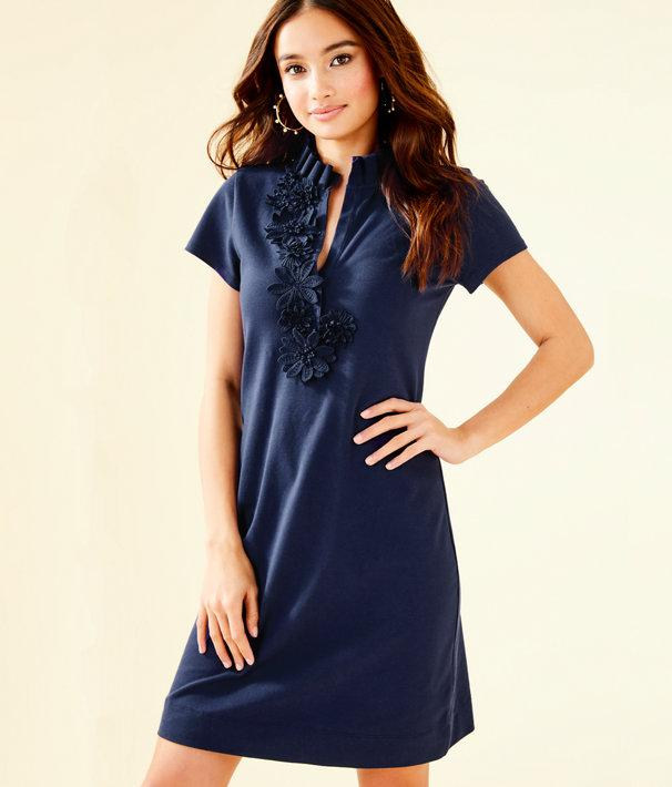 3280bcb95f Lyst - Lilly Pulitzer Clary Polo Dress in Blue