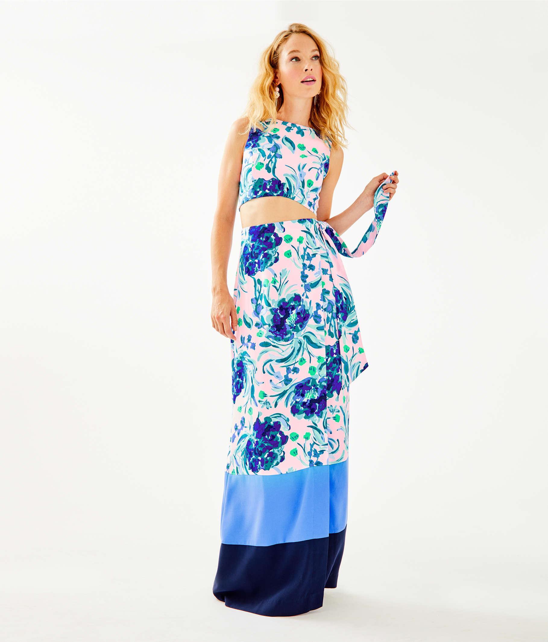 5f5d2054db8dbb Lilly Pulitzer Lilly Pulitzer Jemma Crop Top & Maxi Wrap Skirt Set ...