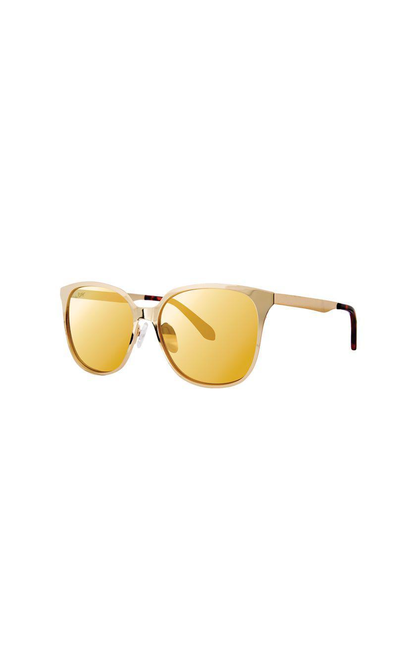 789d880ab24 Lyst - Lilly Pulitzer Landon Sunglasses in Metallic