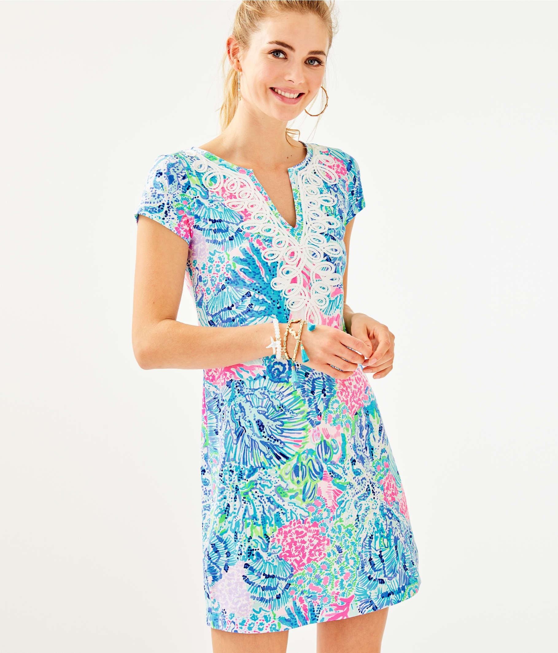52f1825a8fa192 Lyst - Lilly Pulitzer Brewster Dress in Blue