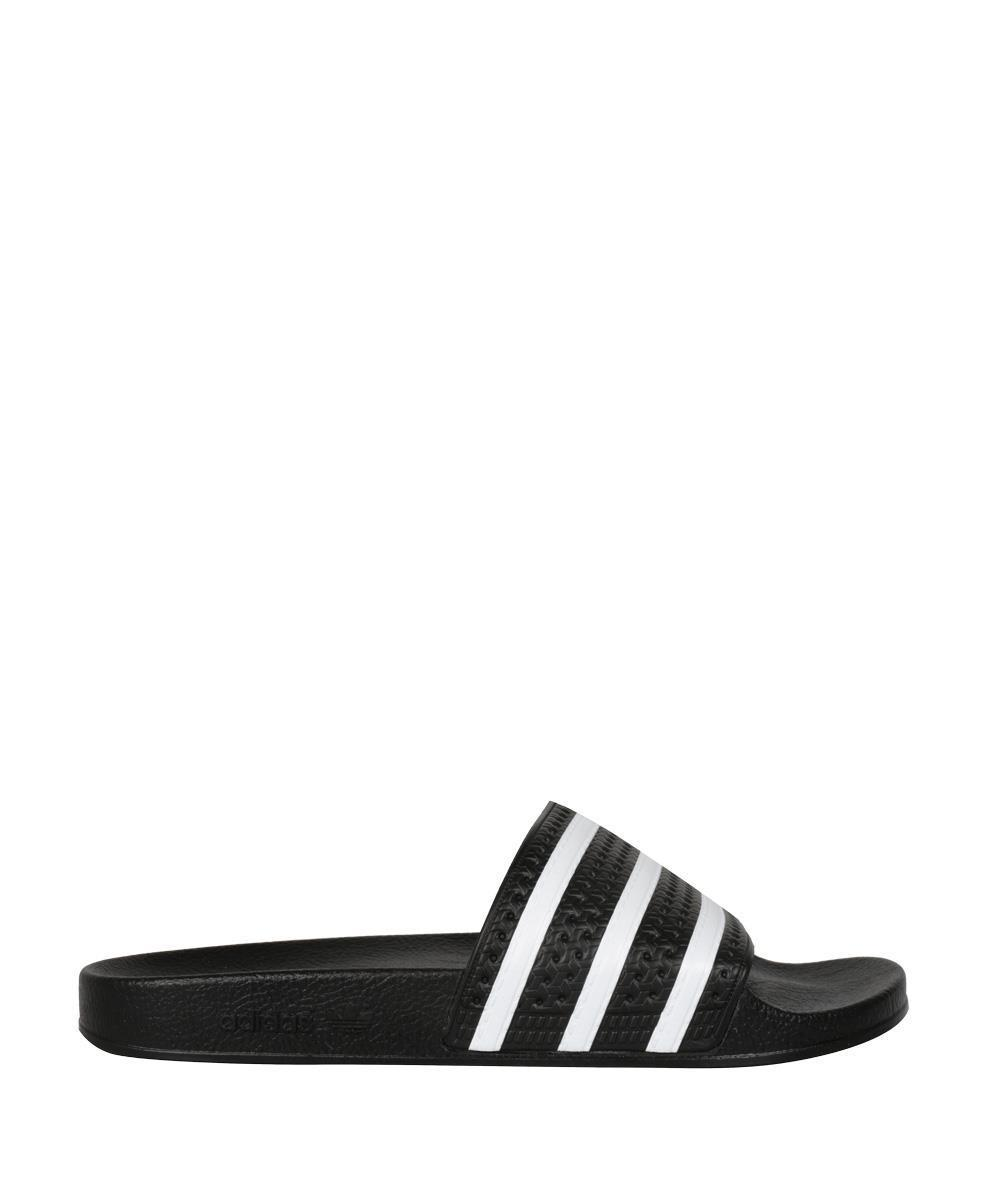 a129add86 Lyst - Adidas Originals Adilette Slide Sandals in Black - Save ...