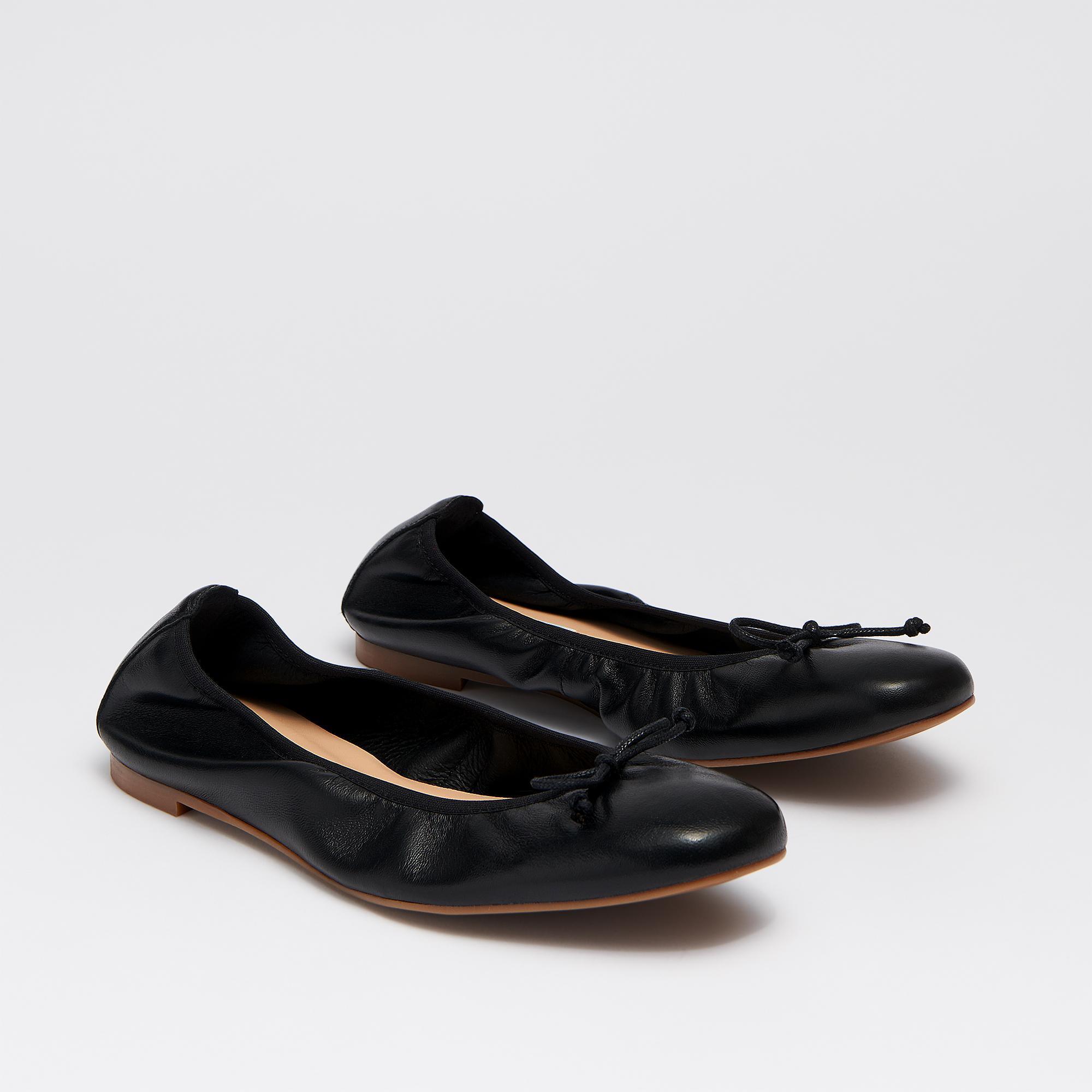 766508de1ed5 L.K.Bennett - Trilly Black Leather Flats - Lyst. View fullscreen