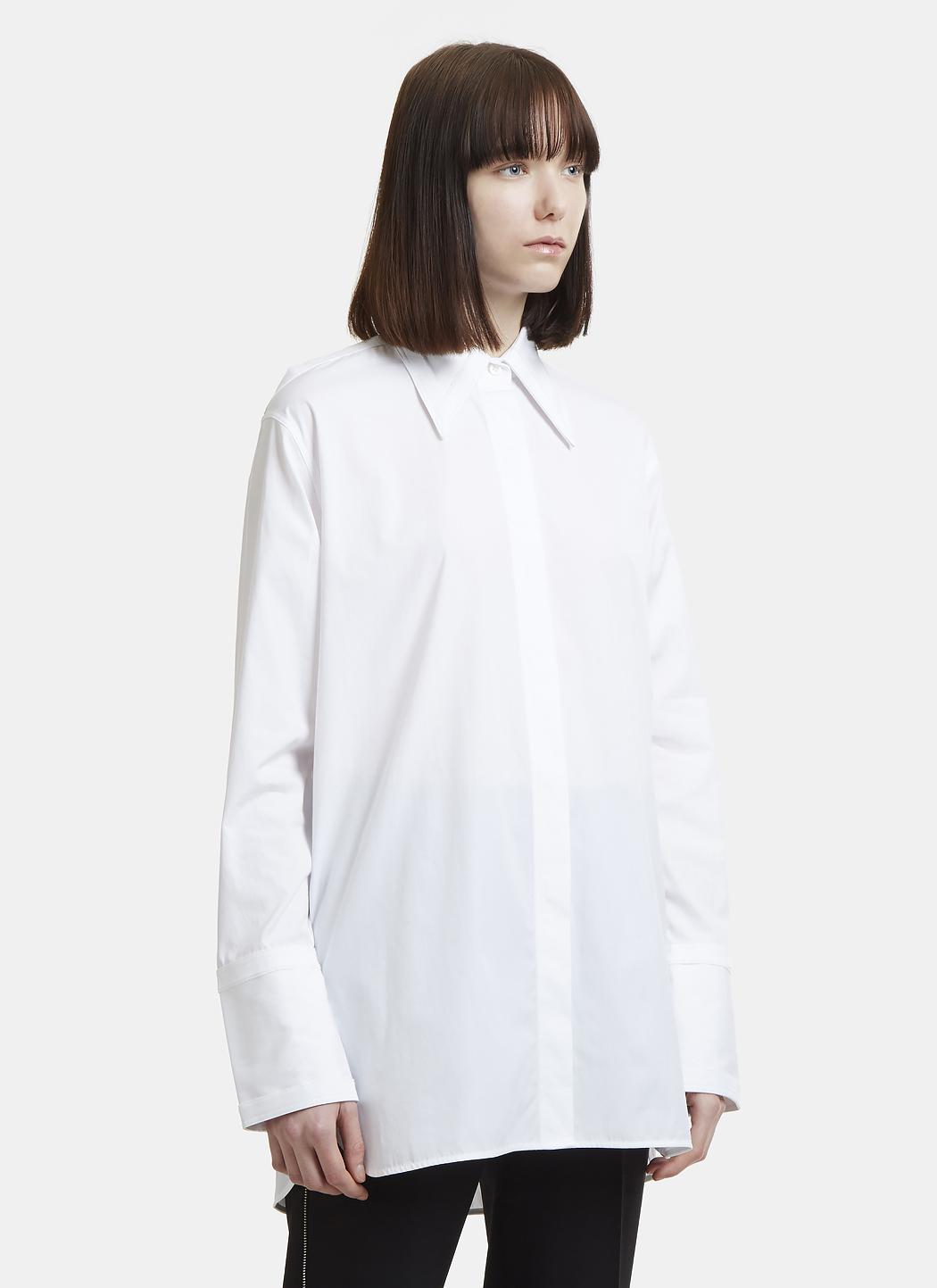 Outlet Fashion Style Brand New Unisex Cheap Price cut out shirt - White Helmut Lang Cheap Real Eastbay M3OC7z