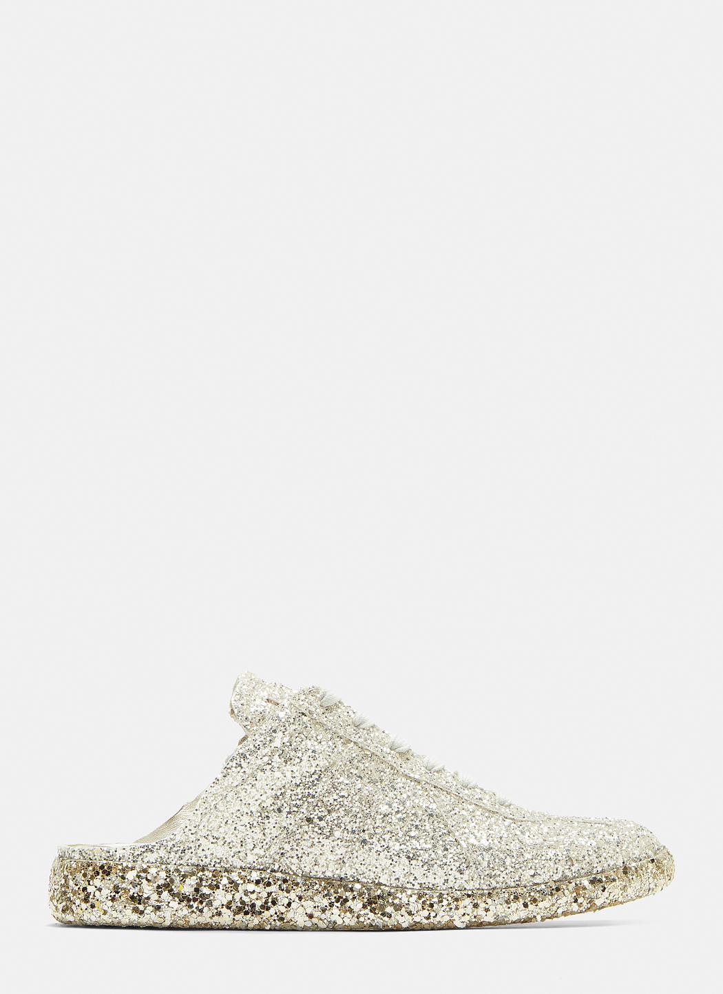 Maison Margiela Glitter Cut-Out Replica Sneakers oSwwXAa8