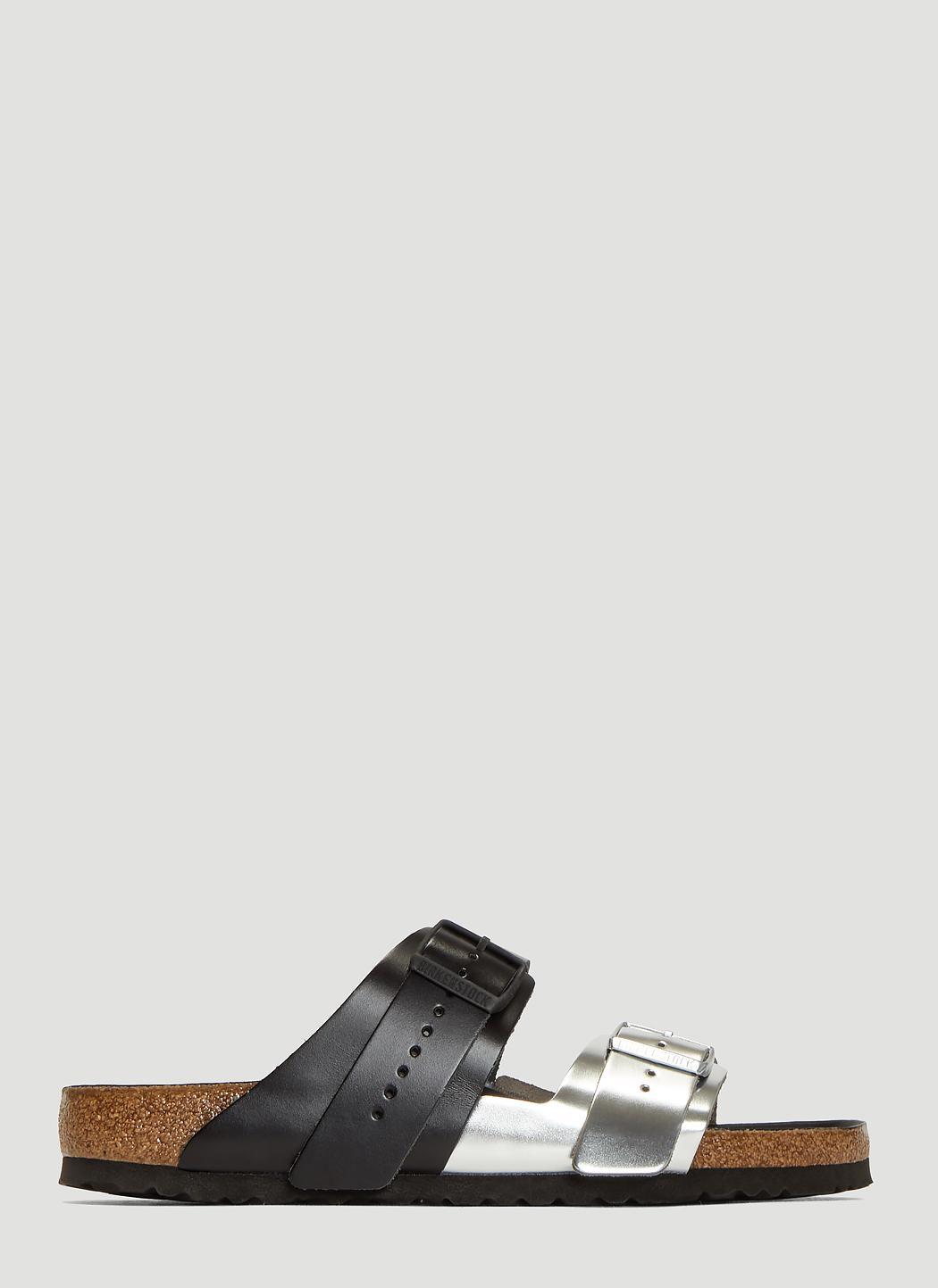 c29235e21737 Rick Owens X Birkenstock. Men s X Birkenstock Arizona Extra Combo Sandals  ...