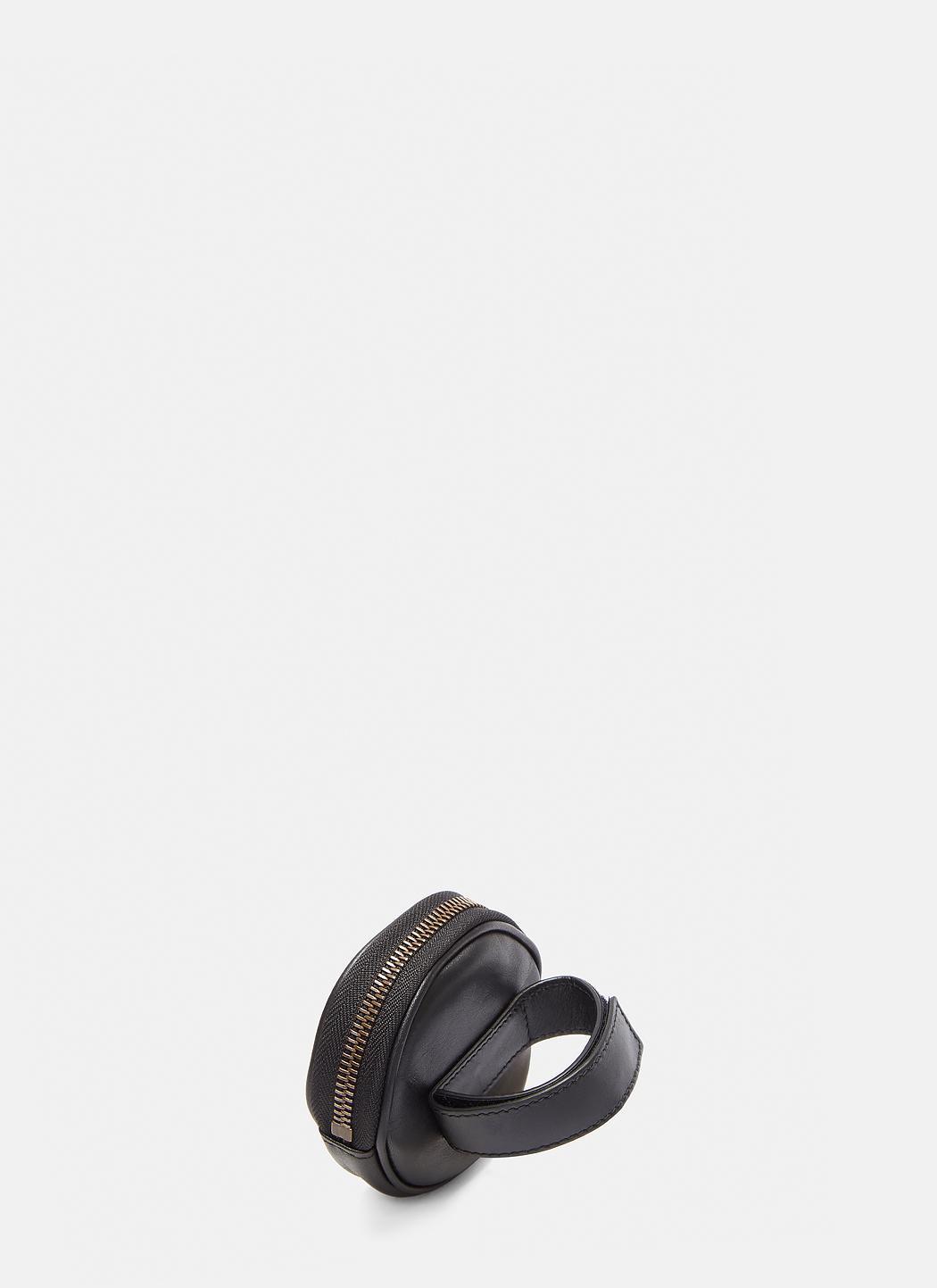 83bdaa77e7b8 Gucci Marmont Animal Stud Wrist Pouch In Black in Black - Lyst