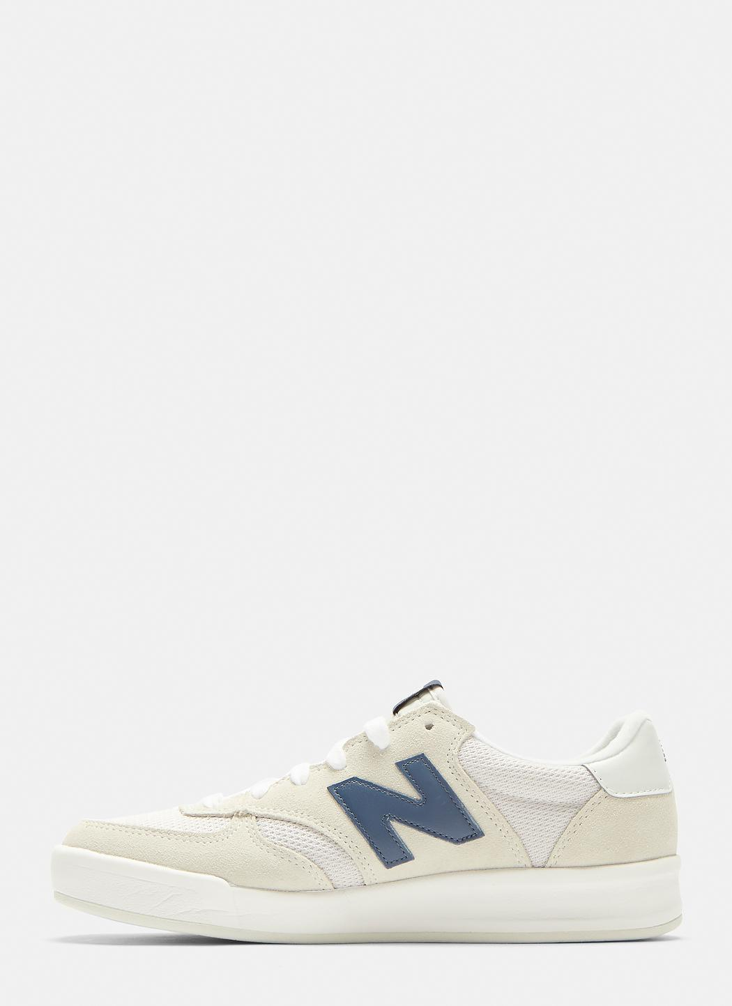 New Balance 300 Suede and Nylon Court Sneakers b8qz71