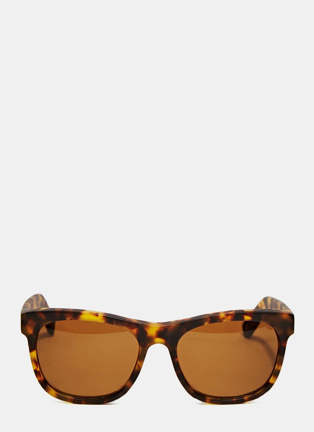 e9755535f4e Lyst - Dick Moby Unisex Lax Sunglasses From Aw15 In Matte Havana in ...