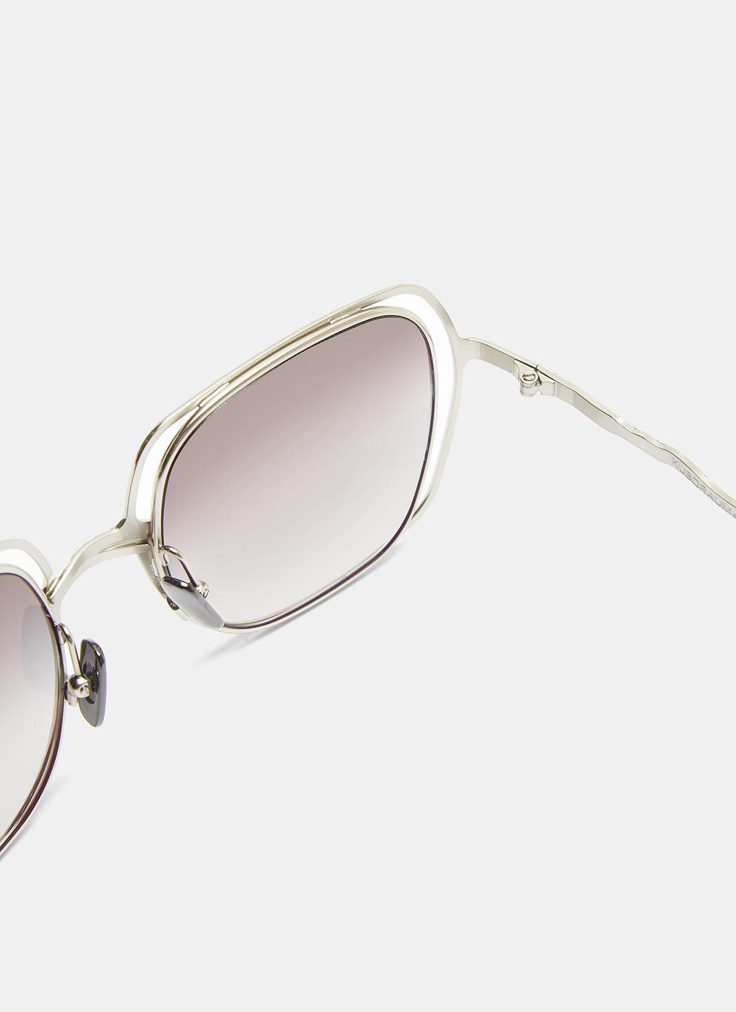 Silver Square Kuboraum Lyst Chiselled In H14 Mask Sunglasses 88SCOqT