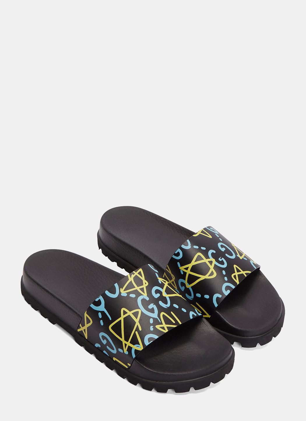 8d9418aaab87 Gucci Men s Ghost Sandal for Men - Lyst