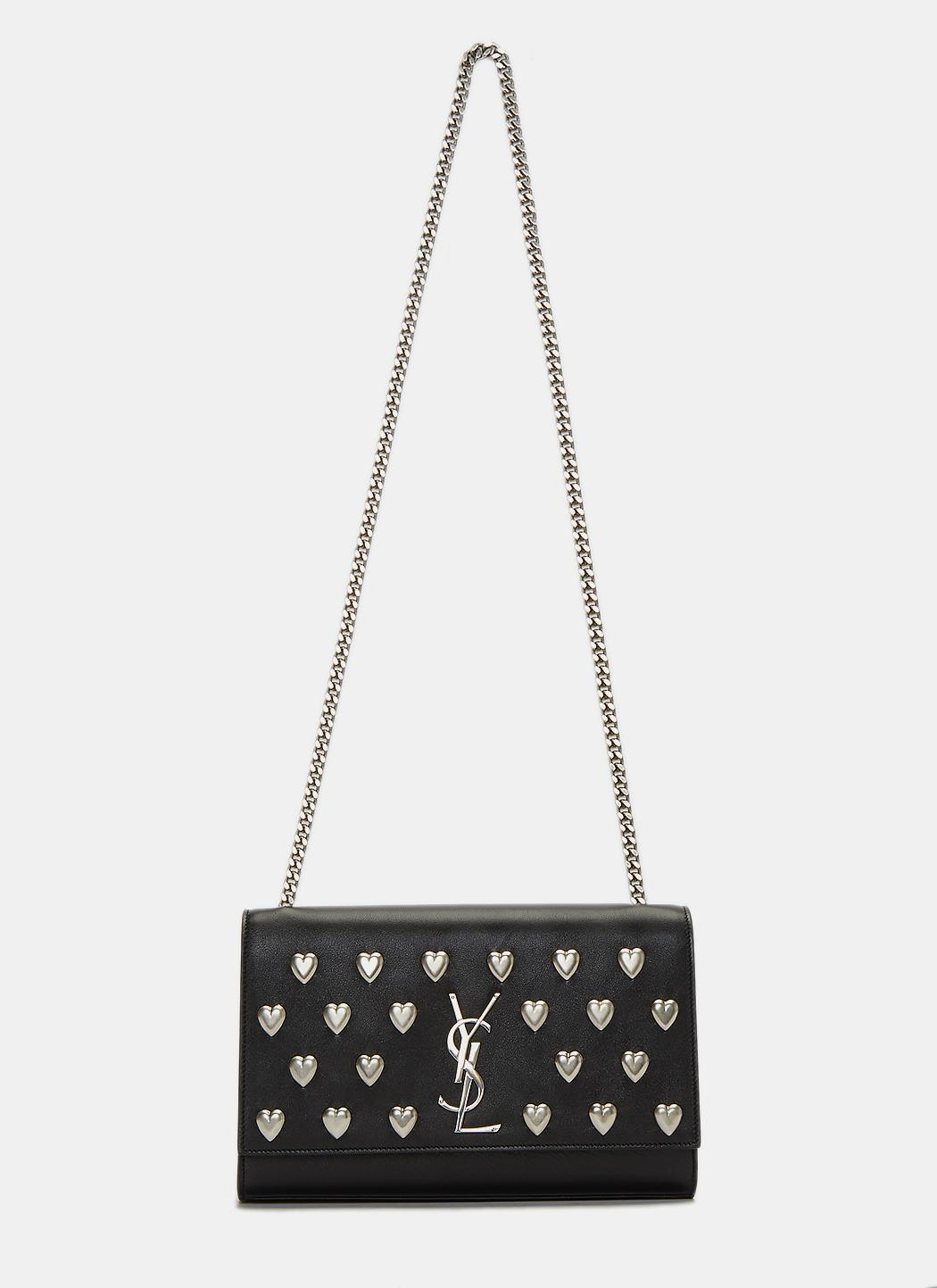 Lyst Saint Laurent Women S Kate Medium Ysl Monogrammed