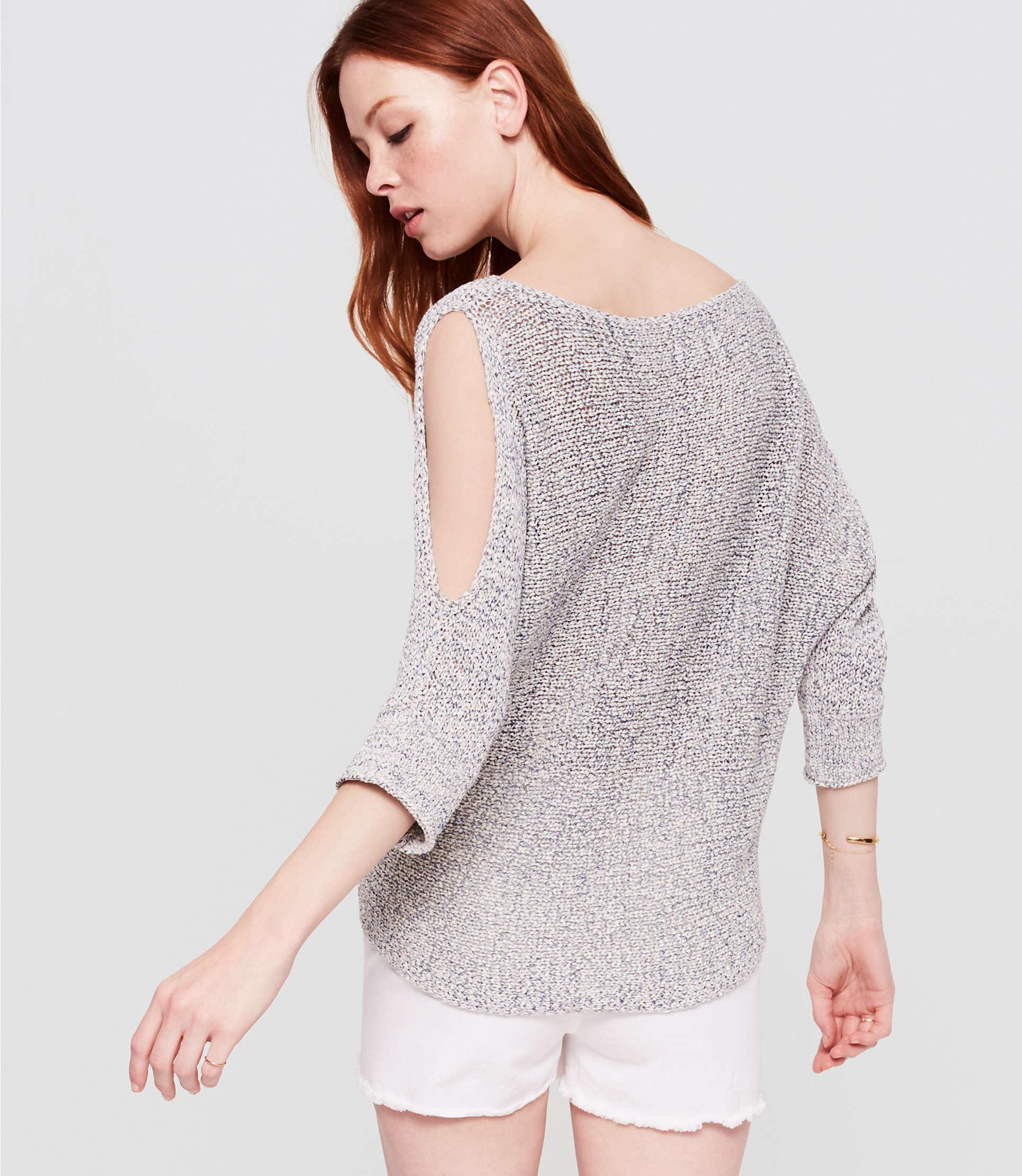 8f503ed40885b3 Gallery. Previously sold at  LOFT · Women s 34 Sleeve Sweaters ...