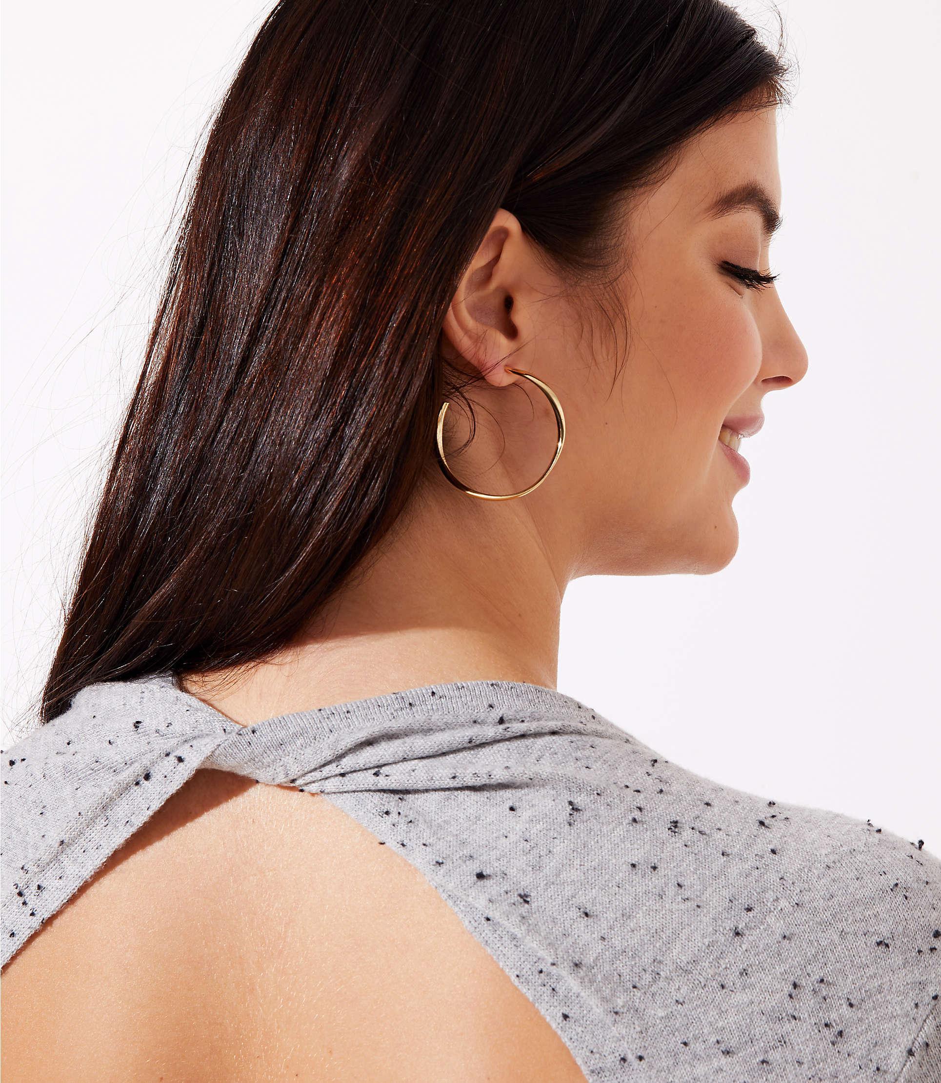 50eec3276e8 ... Flecked Cutout Back Sweater Dress - Lyst. View fullscreen