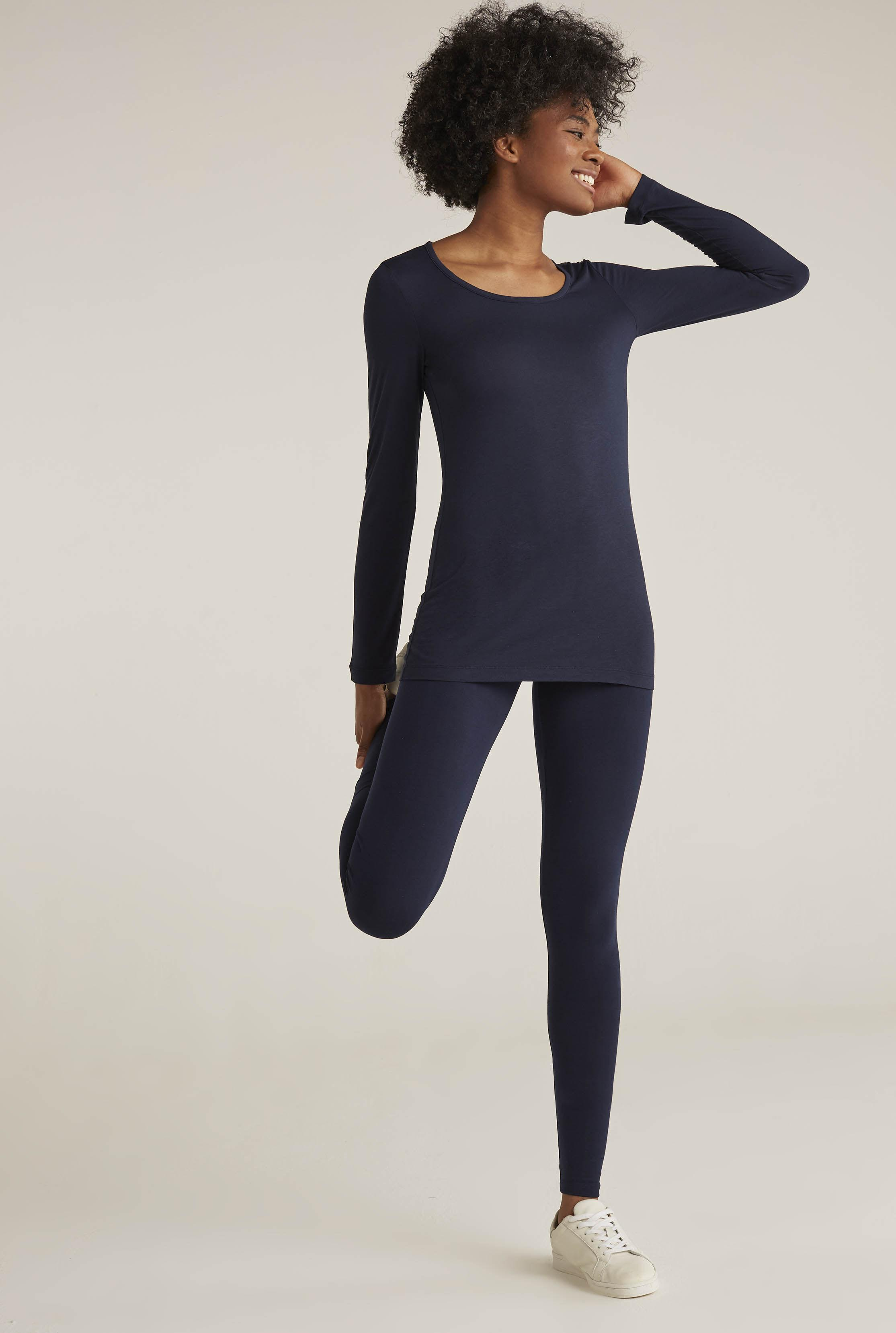 face57caf0d63a Long Tall Sally Tall Classic Jersey Legging in Blue - Lyst