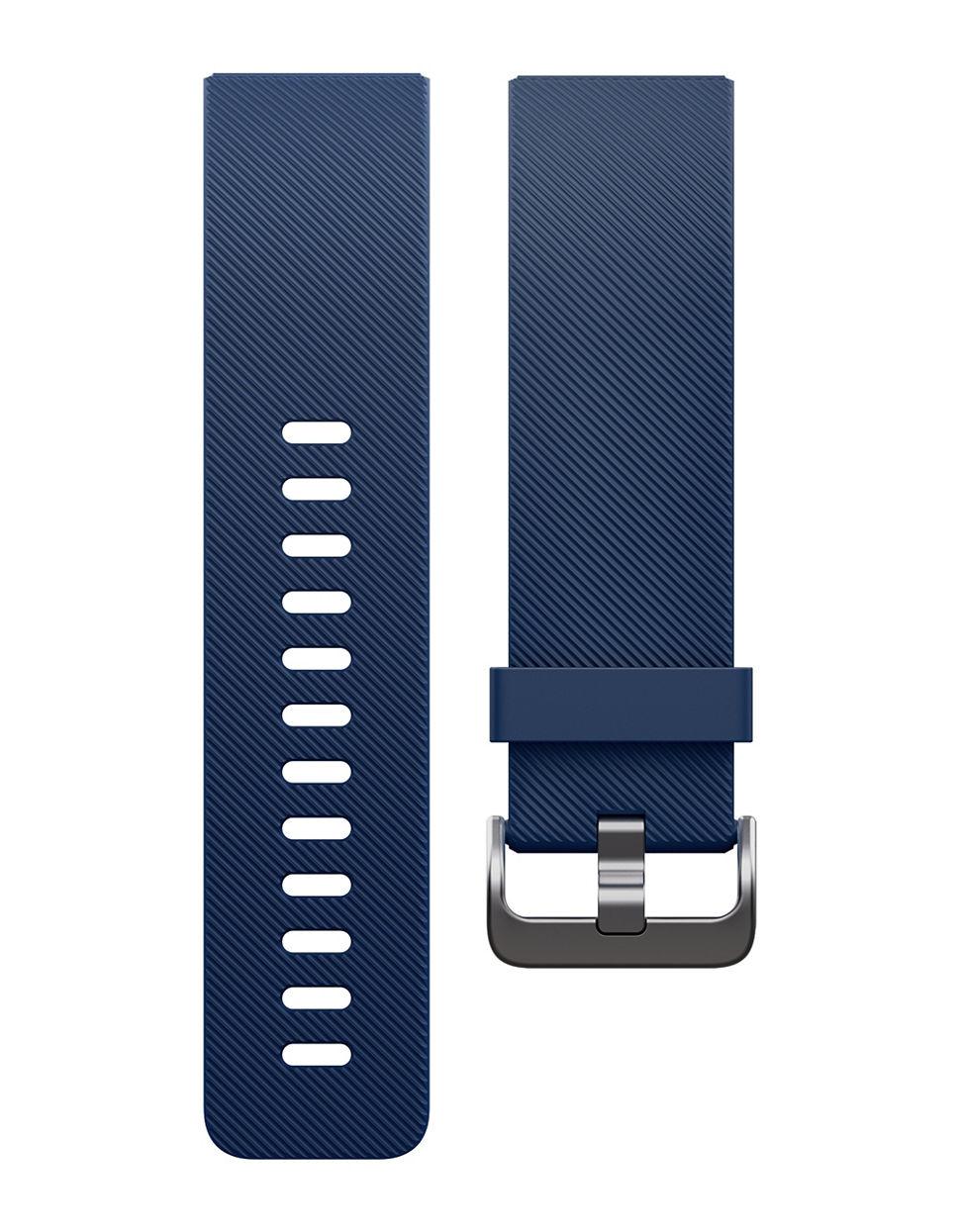 Fitbit Blaze Smart Fitness Watch, Blue in Black