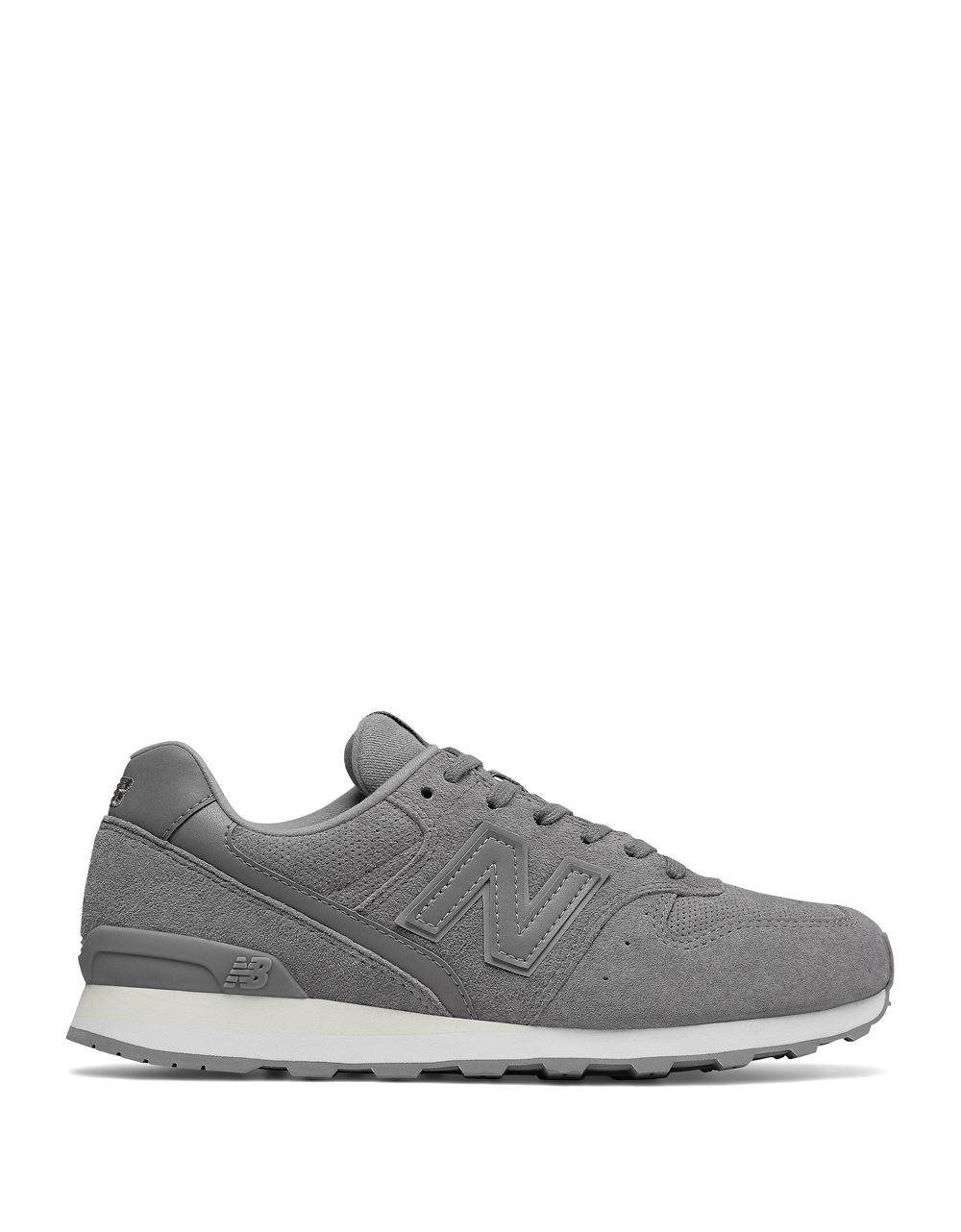 New Balance Lace-Up Suede Running Sneakers tQDxE7LjS1