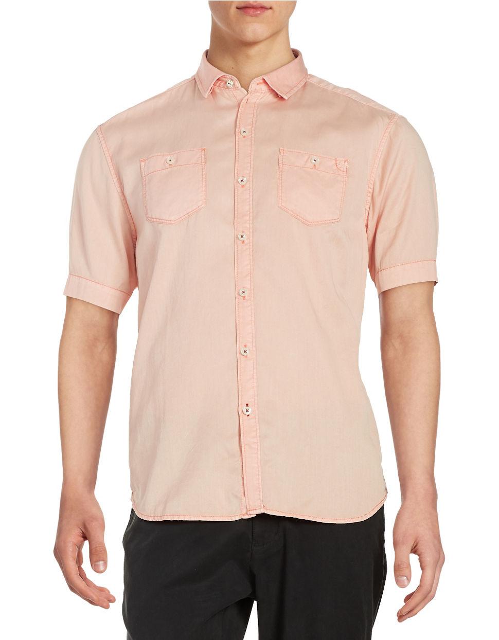 Lyst tommy bahama peace short sleeve sportshirt in for Custom tommy bahama shirts