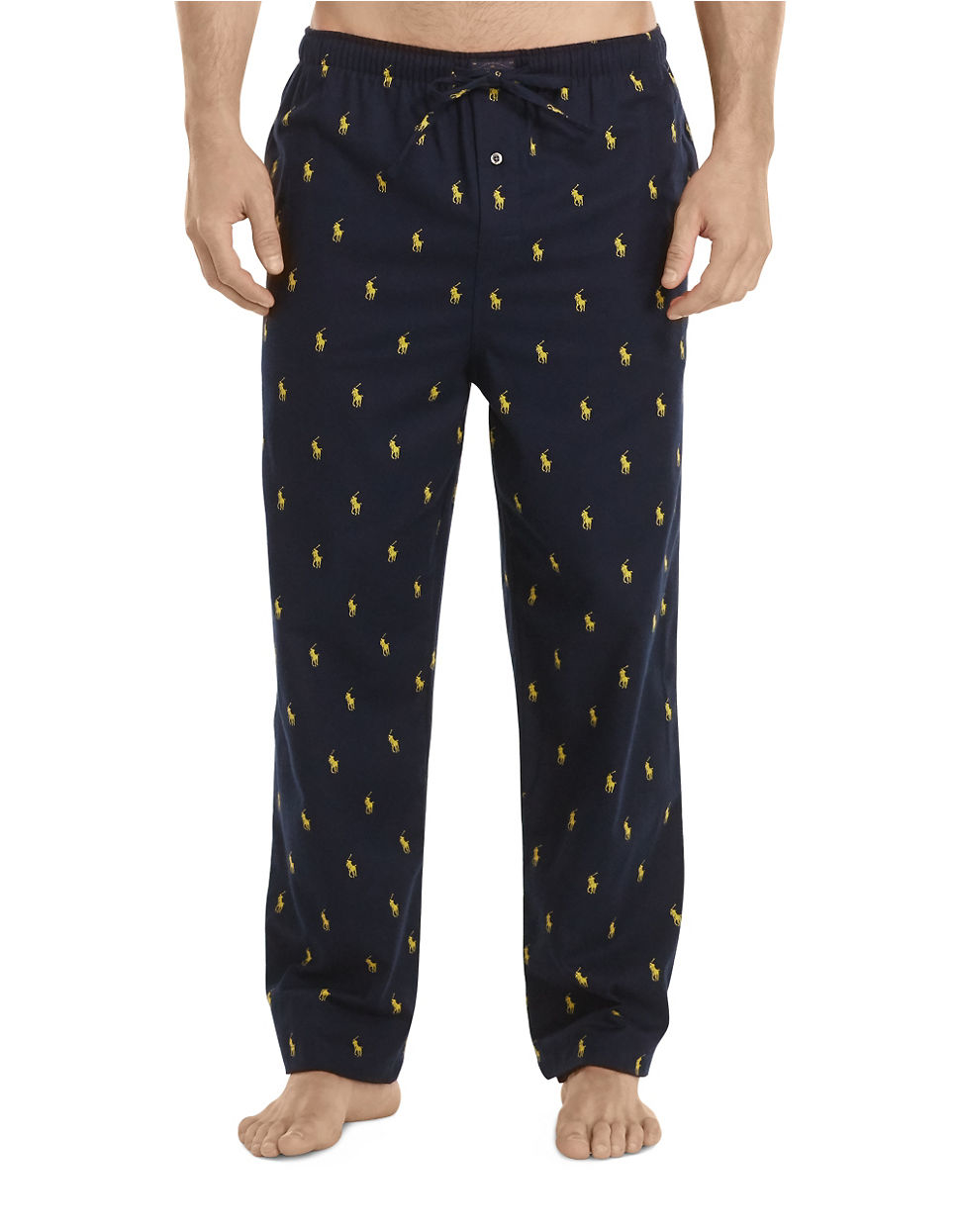 Polo ralph lauren Big & Tall Flannel Pajama Pants in Blue