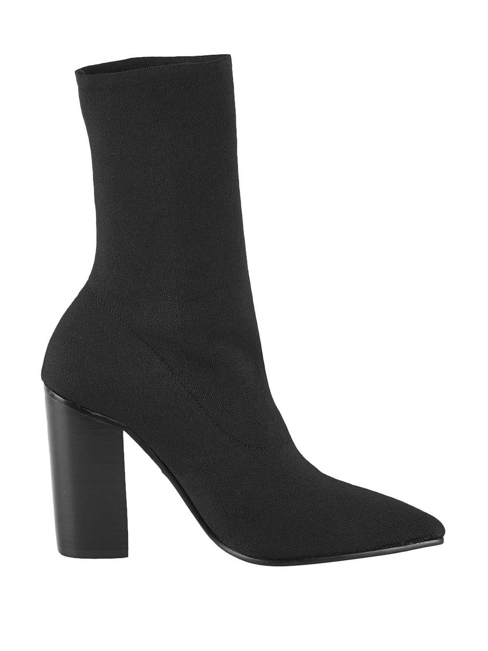 2bf794b9402a Lyst - Sol Sana Dannii Point-toe Boots in Black