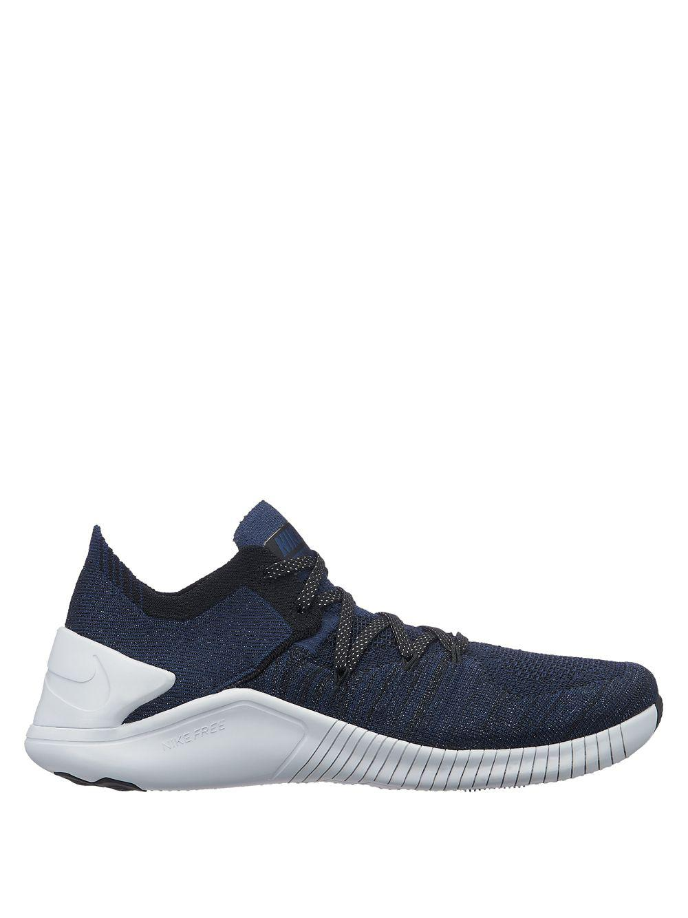 meet e6ab3 94433 Nike Free Tr Flyknit 3 Metallic in Blue - Save 47% - Lyst