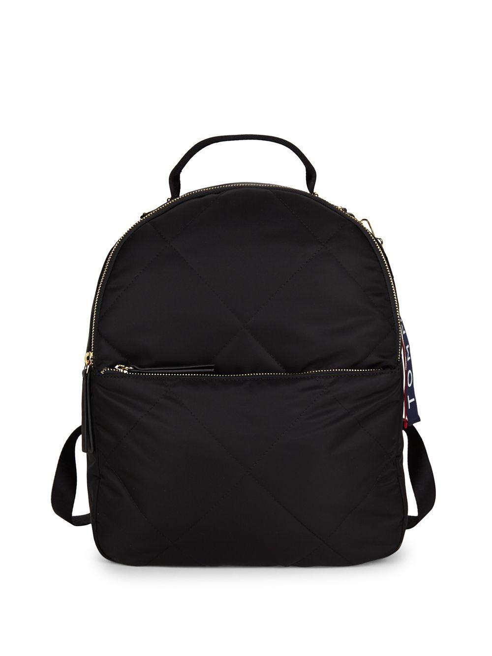 b5d22dad51 Lyst - Tommy Hilfiger Nylon Backpack in Black