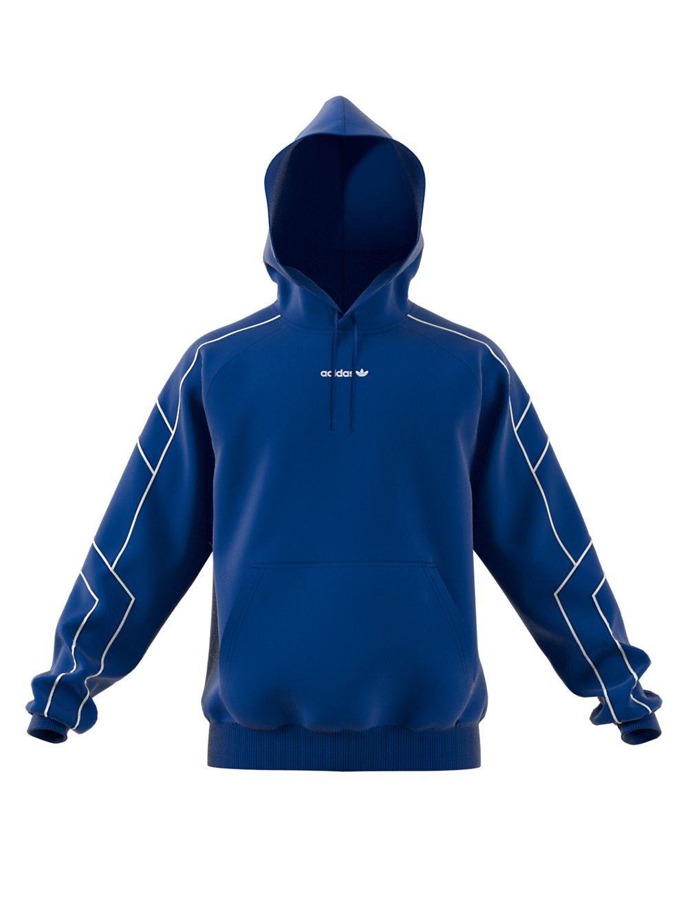 2ec0e8c40a19 Lyst - Adidas Equipment Outline Hoodie in Blue for Men