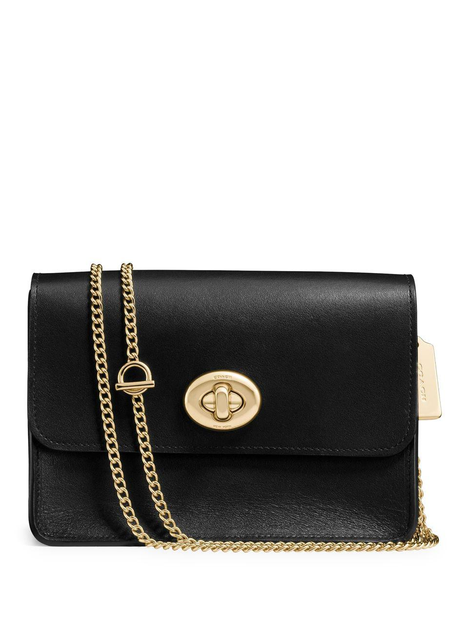 Gallery Previously Sold At Lord Taylor Women S Chain Strap Bags Leather