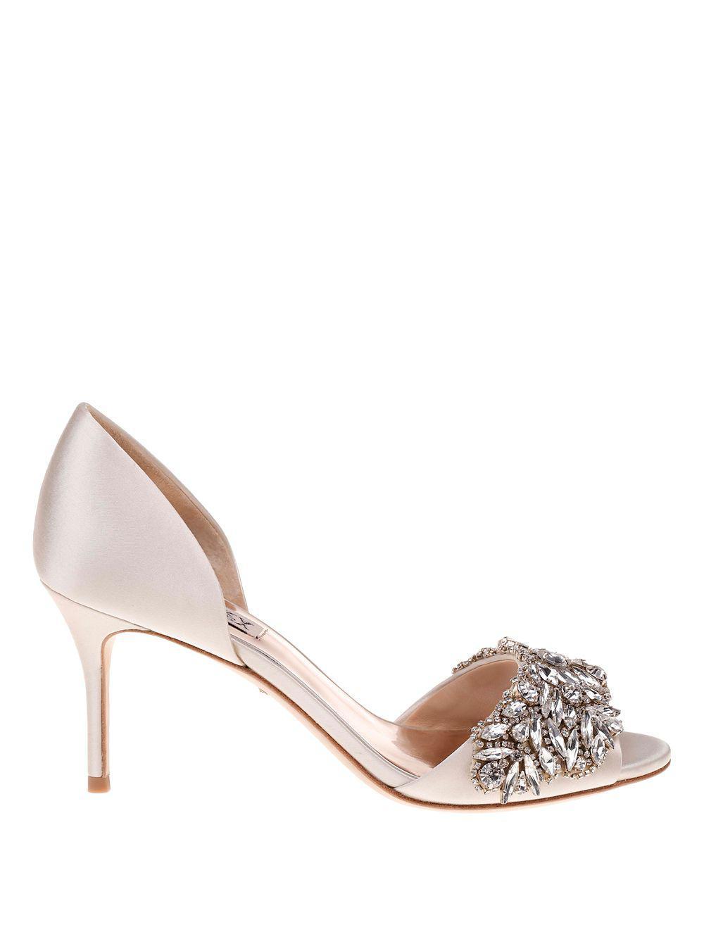 Badgley Mischka Women's Hansen Crystal Embellished Sandal mTWI5BSg