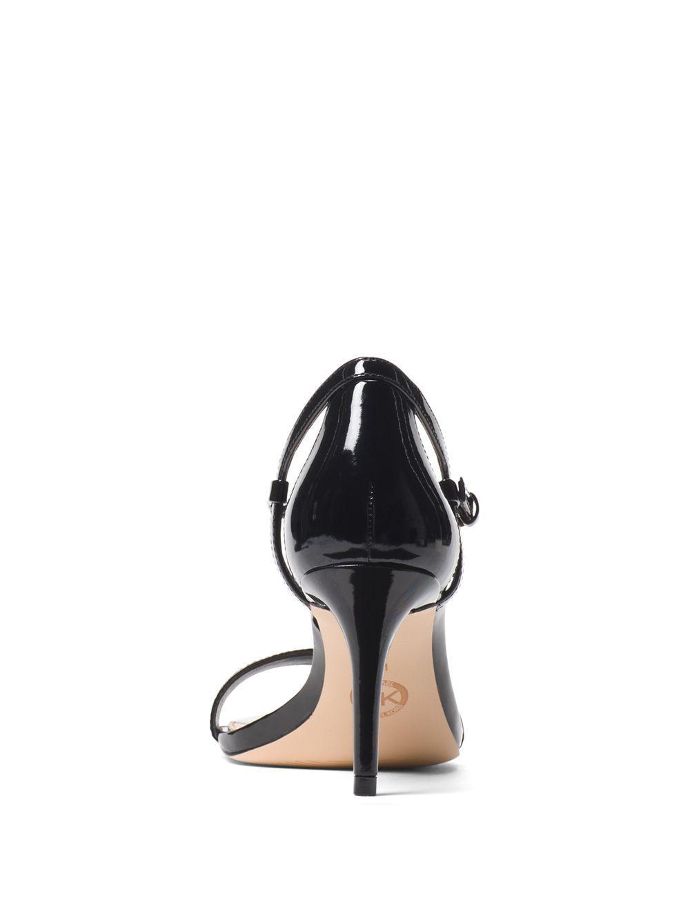 40447040e1f4 MICHAEL Michael Kors  simone  Sandal in Black - Save 56% - Lyst