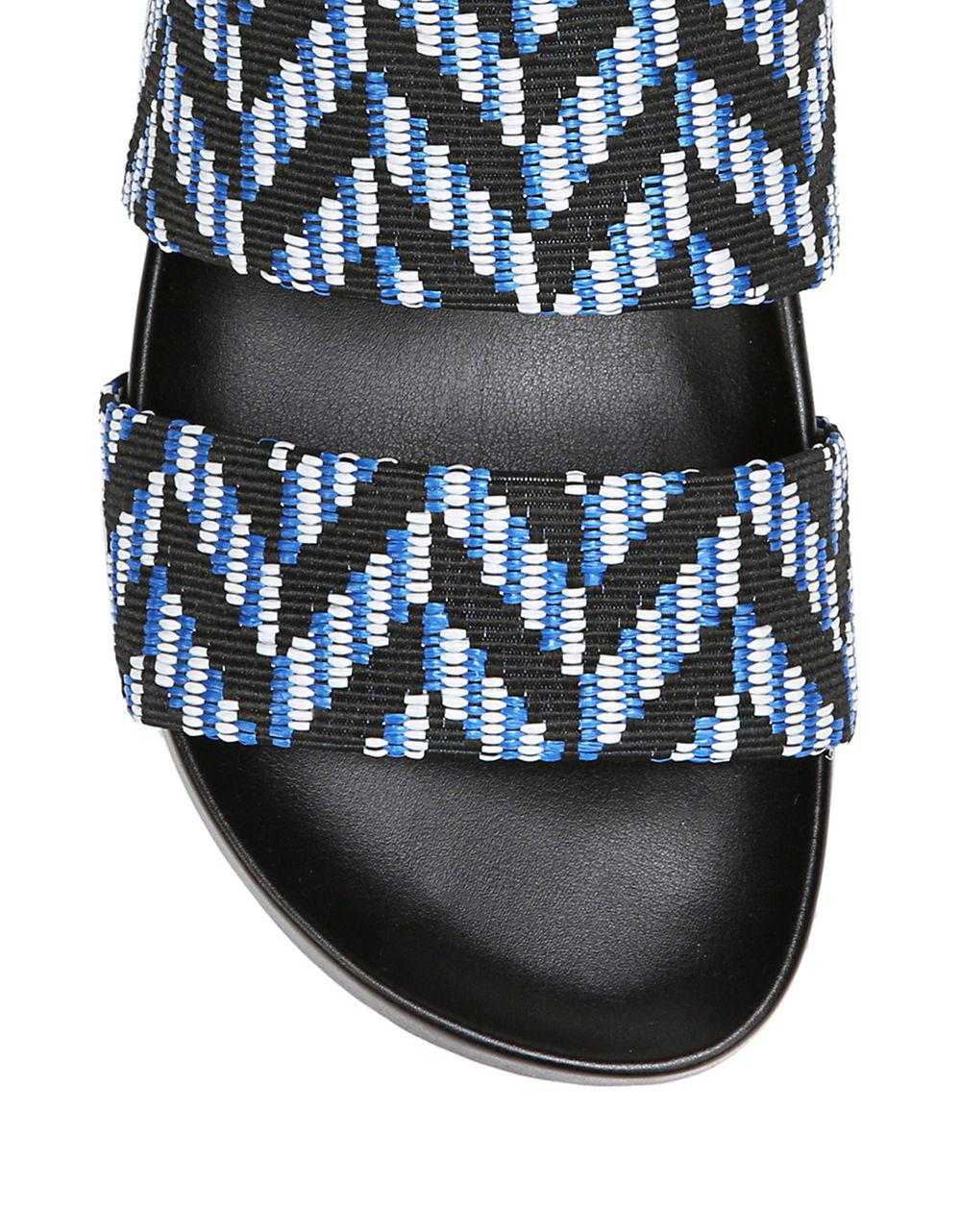 bb31173f4169 Naturalizer - Multicolor Amabella Textile Slides - Lyst. View fullscreen