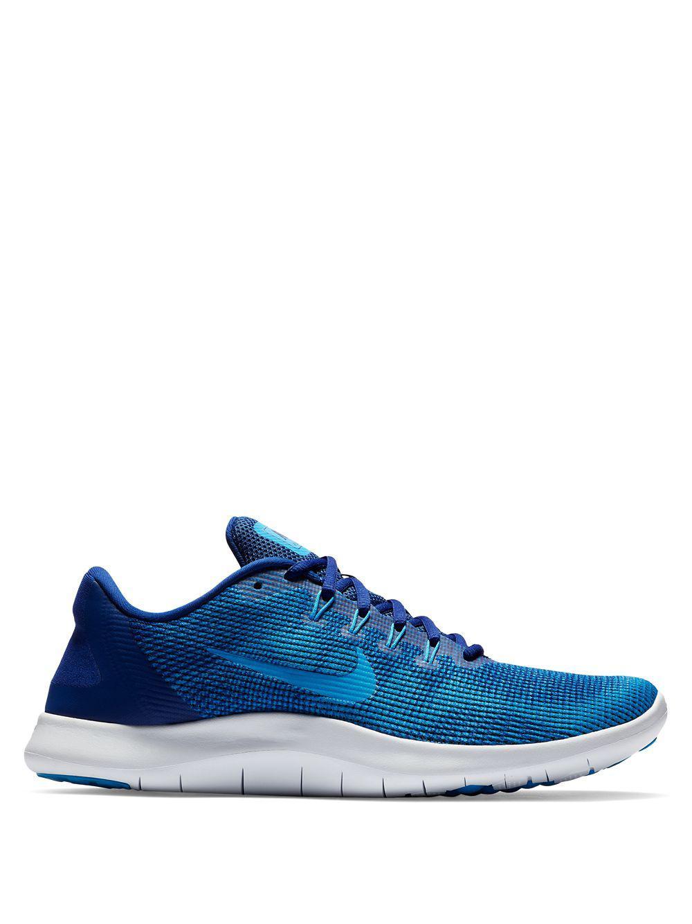8d1da22412aa Lyst - Nike Flex Rn 2018 Running Shoes in Blue for Men
