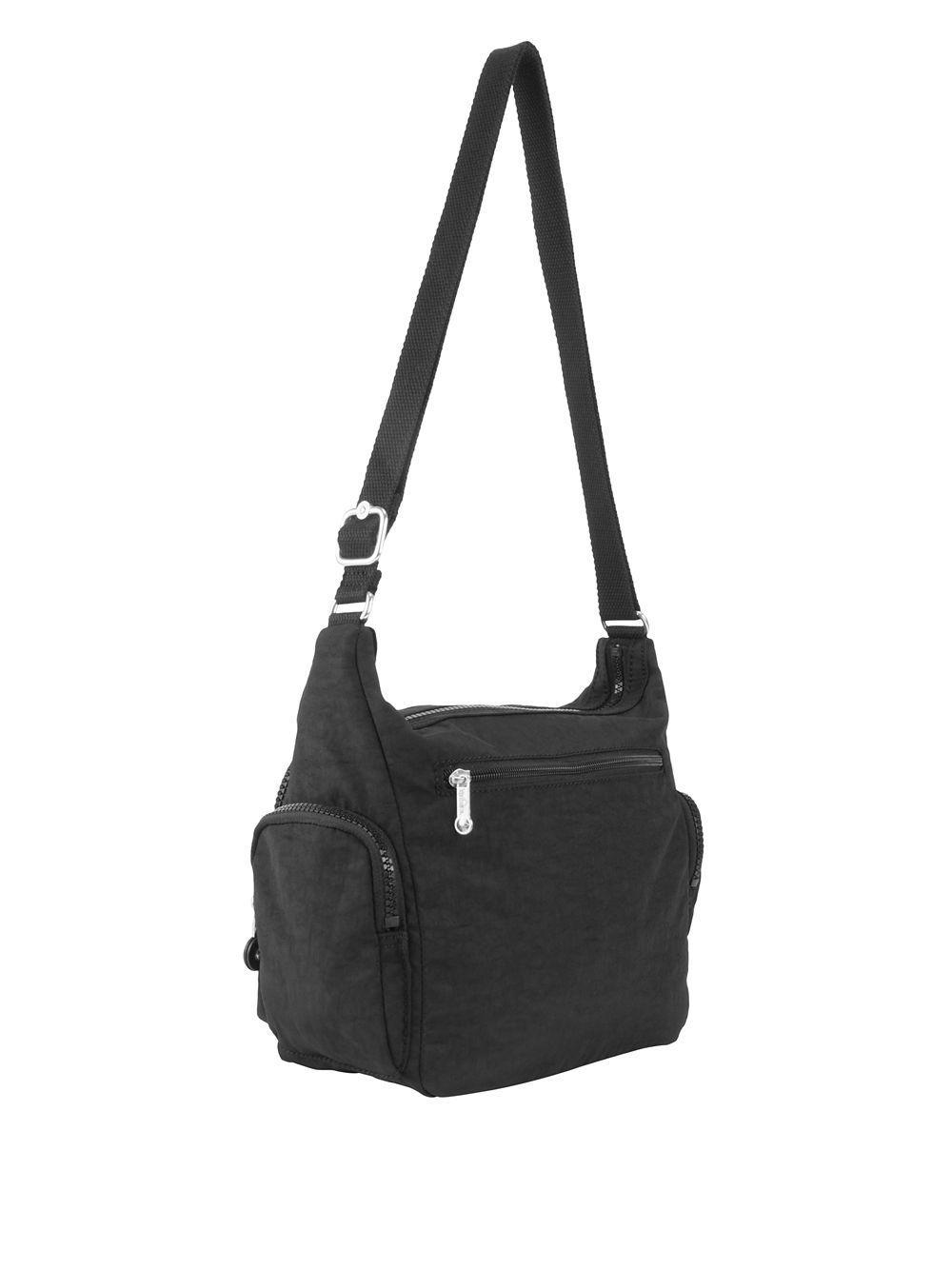Kipling Black Small Gabbie Crossbody Bag Lyst View Fullscreen