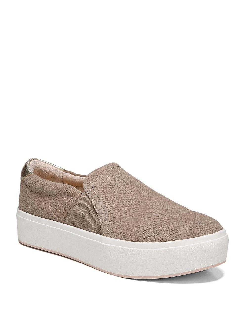 Abbot Perforated Suede Slip-On Sneakers Qumr0C