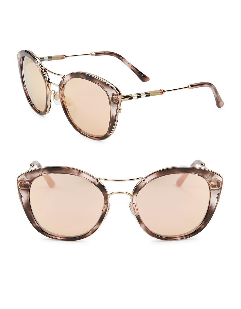 67f75c2866 Burberry. Women s 50mm Tinted Cat Eye Sunglasses