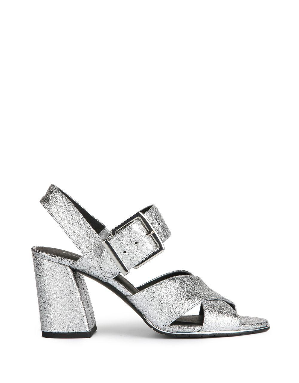 978399c0c2a Kenneth Cole Lauralynn Leather Sandals - Lyst