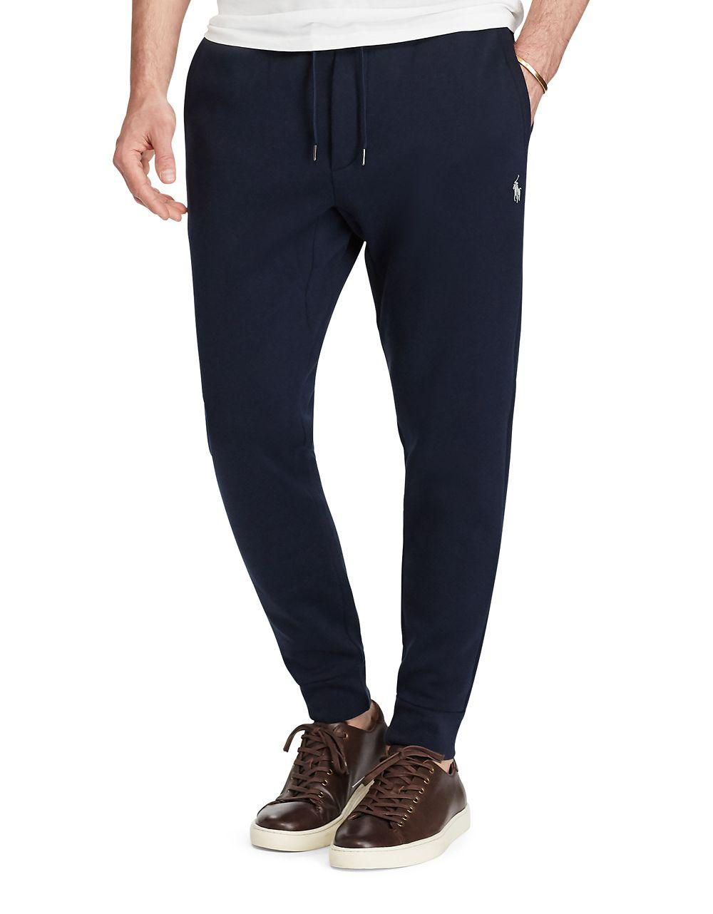 aabeff214e3b Lyst - Polo Ralph Lauren Tech-fleece Double-knit Jogger Pants in ...