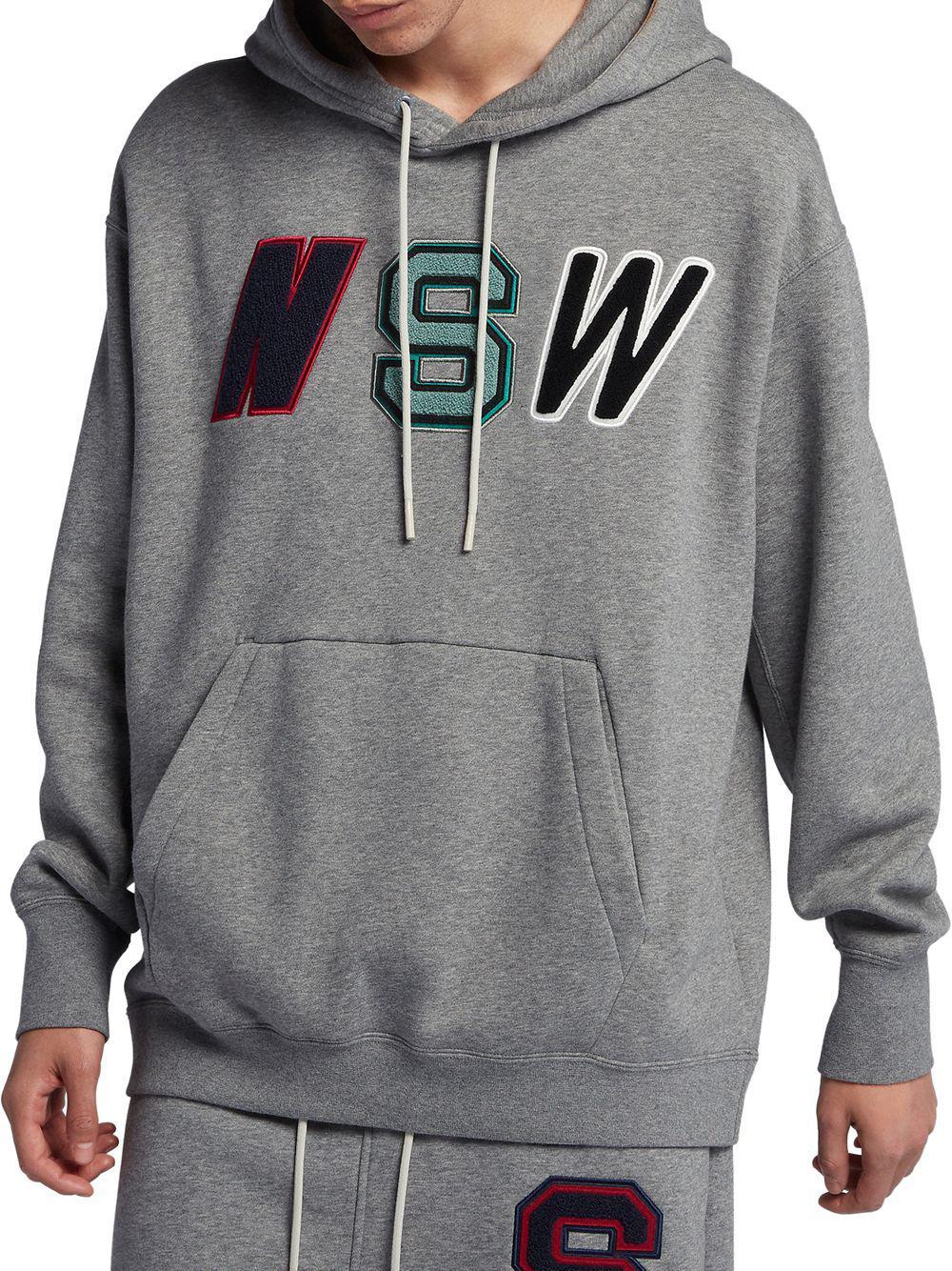 409330a22b4b Lyst - Nike Nsw Pocket Hoodie in Gray for Men