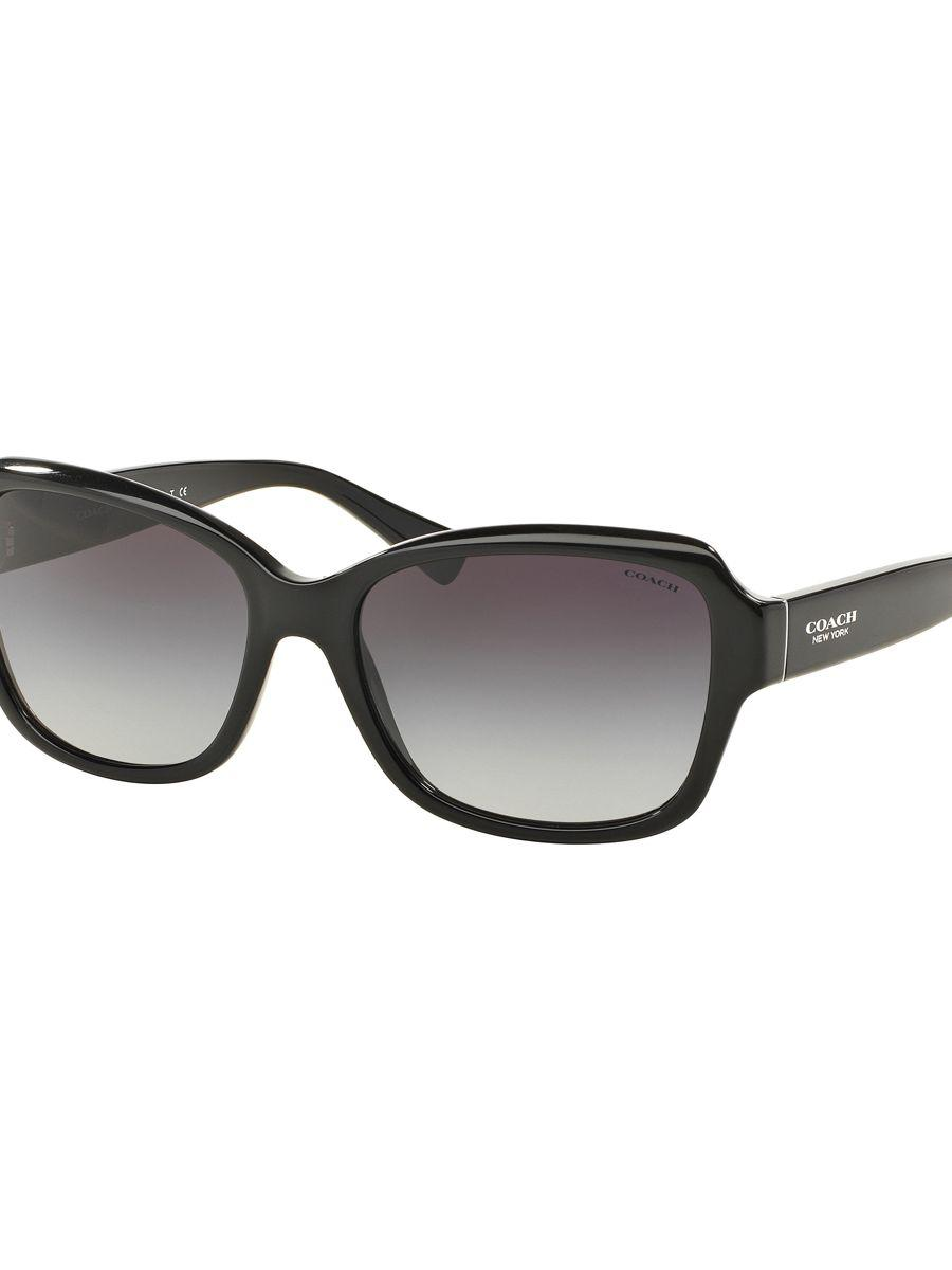 9e60f1c6631fb ... usa coach. womens black legacy butterfly 56mm rectangular sunglasses  fb134 a2b93