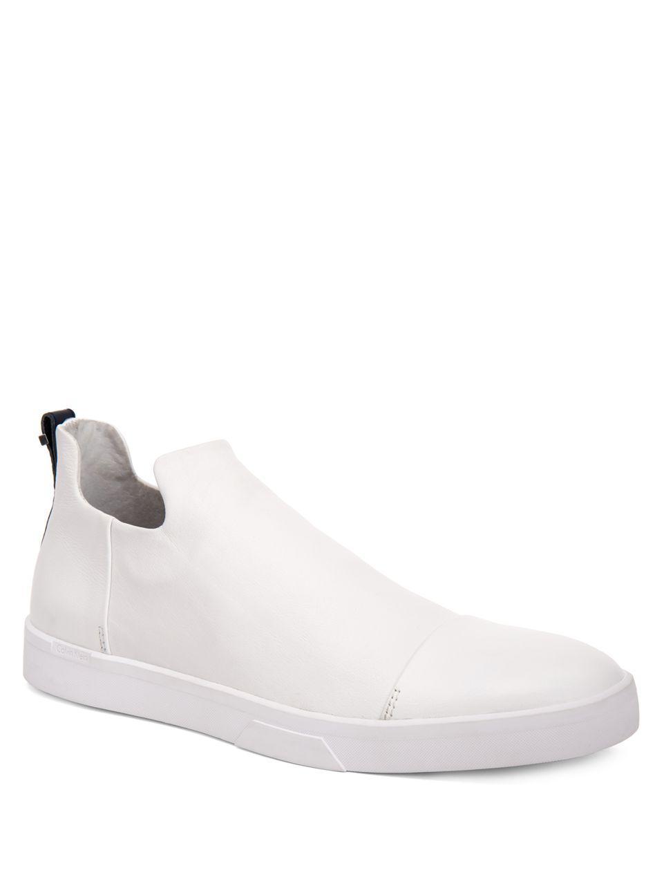 nappa leather sneakers - White CALVIN KLEIN 205W39NYC Cheap Buy 6Xx9r