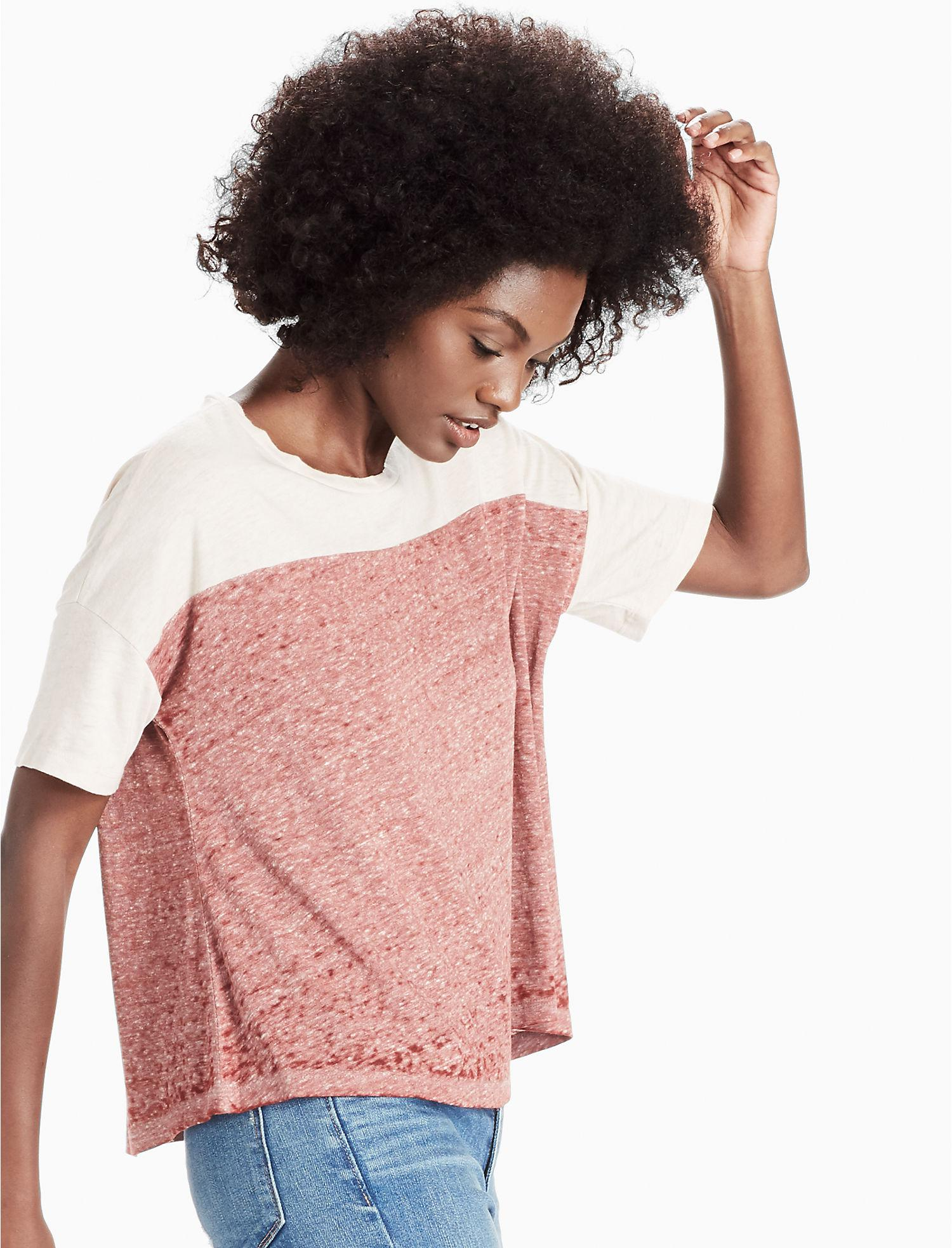 ef34f7d141 Lucky Brand. Women s Burnout Fashion Tee