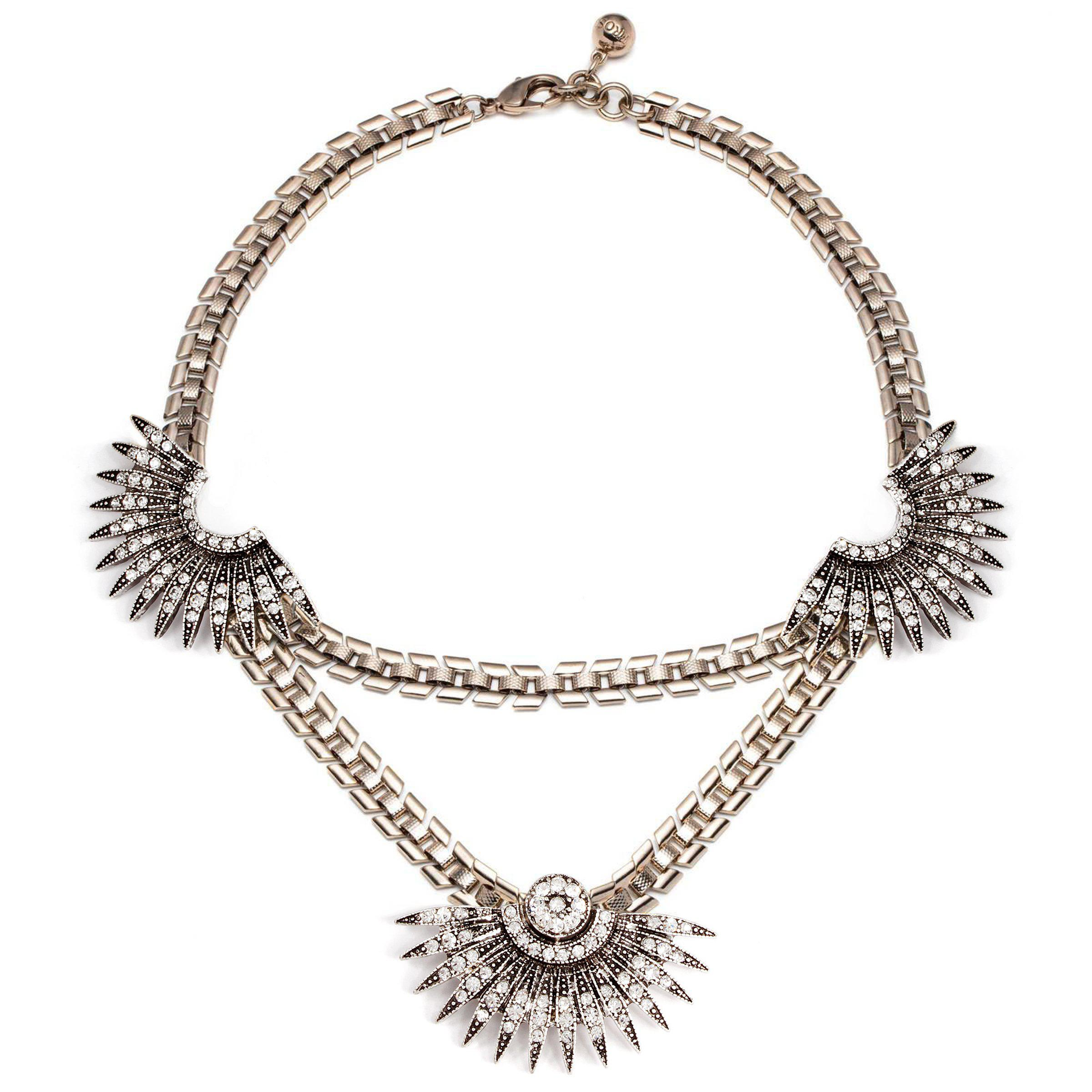 Lulu Frost Lillet Long Layered Tassel Necklace NoHgIM