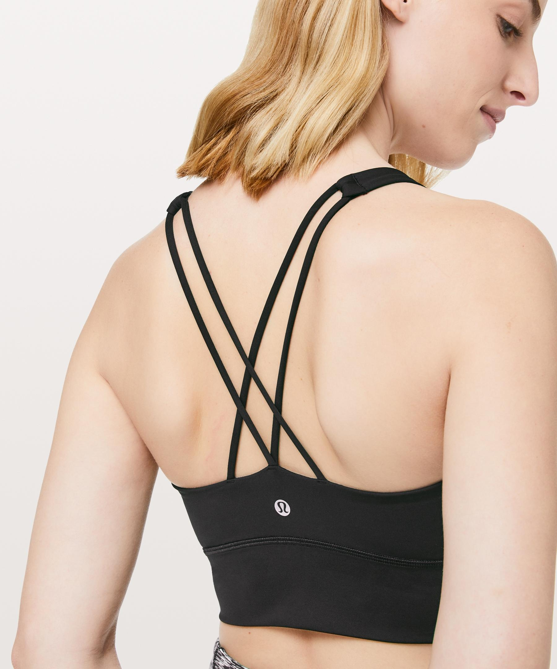 4bbdc691fe Lyst - lululemon athletica Free To Be Bra  long Line Online Only in ...