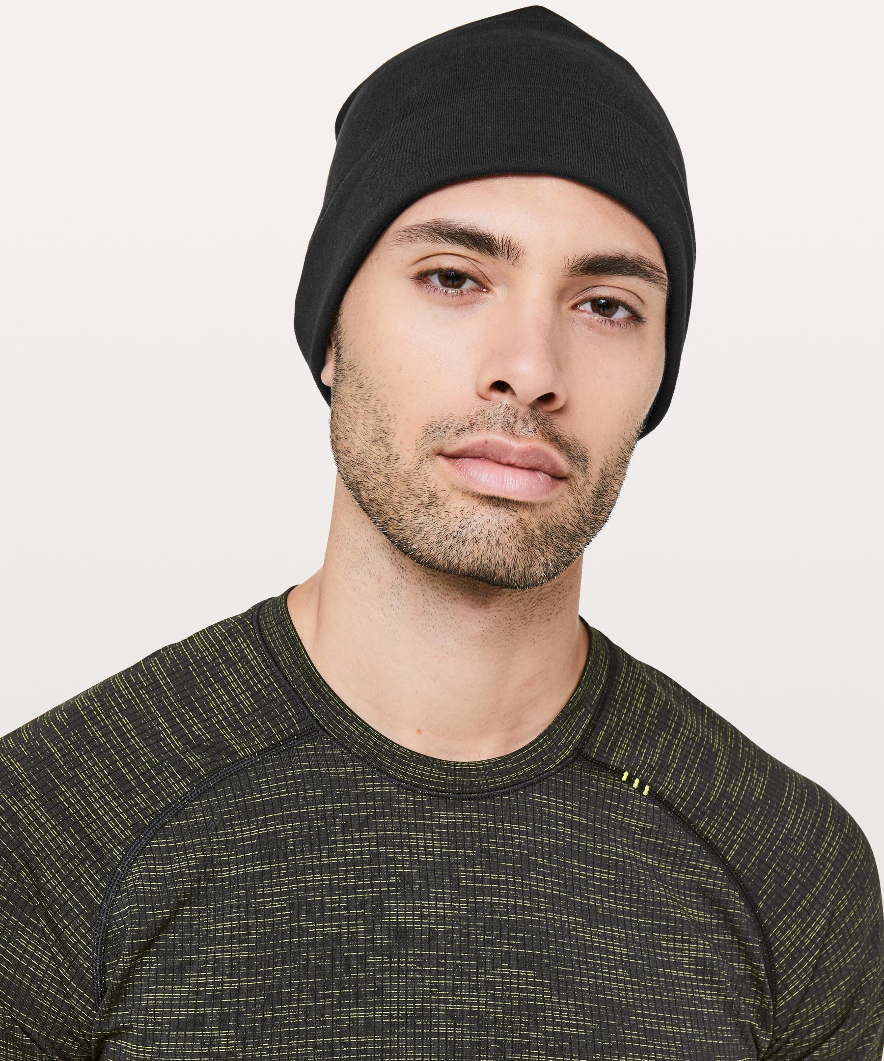 af6363861069a lululemon athletica Resolute Runner Beanie in Black for Men - Lyst