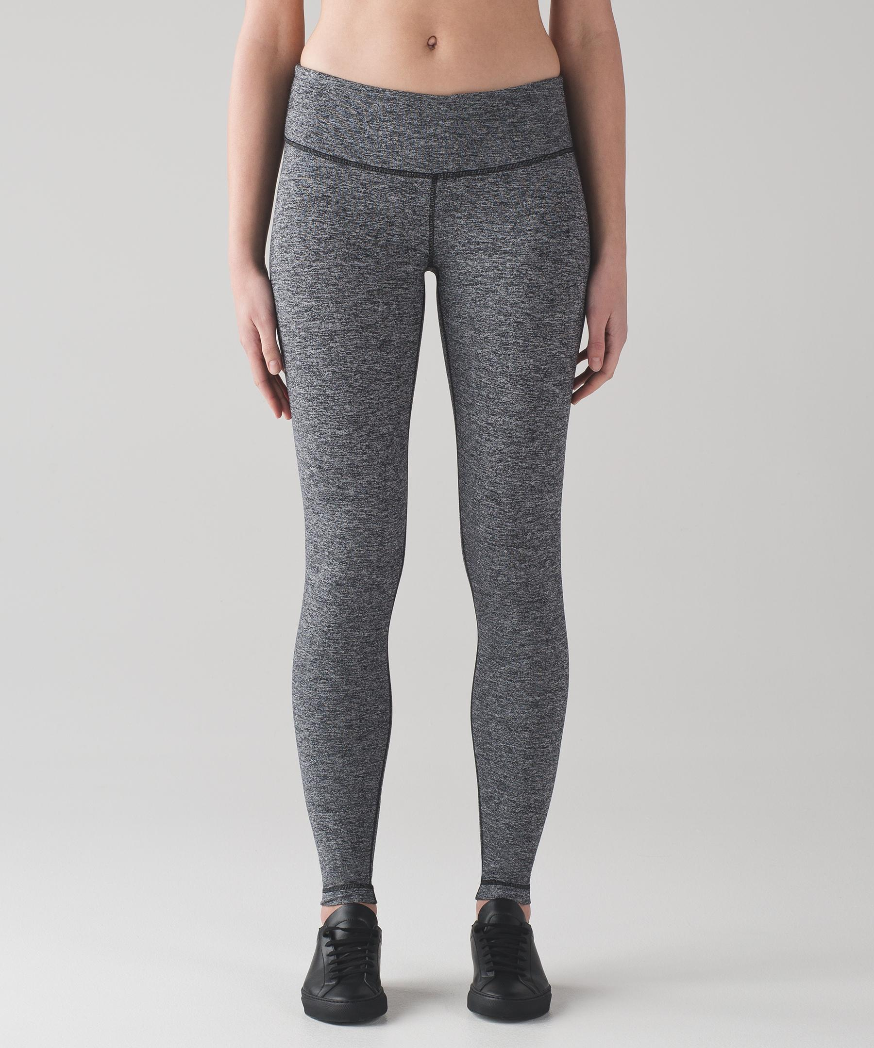 e7a6cf9c96c869 lululemon athletica Wunder Under Low-rise Tight in Black - Lyst