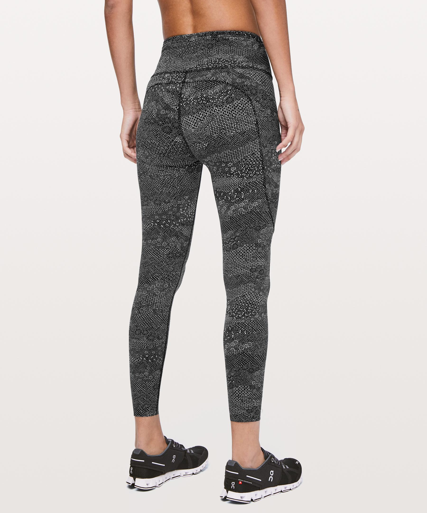 separation shoes 6114a c57bc lululemon athletica Fast And Free 7 8 Tight Ii in Black - Lyst